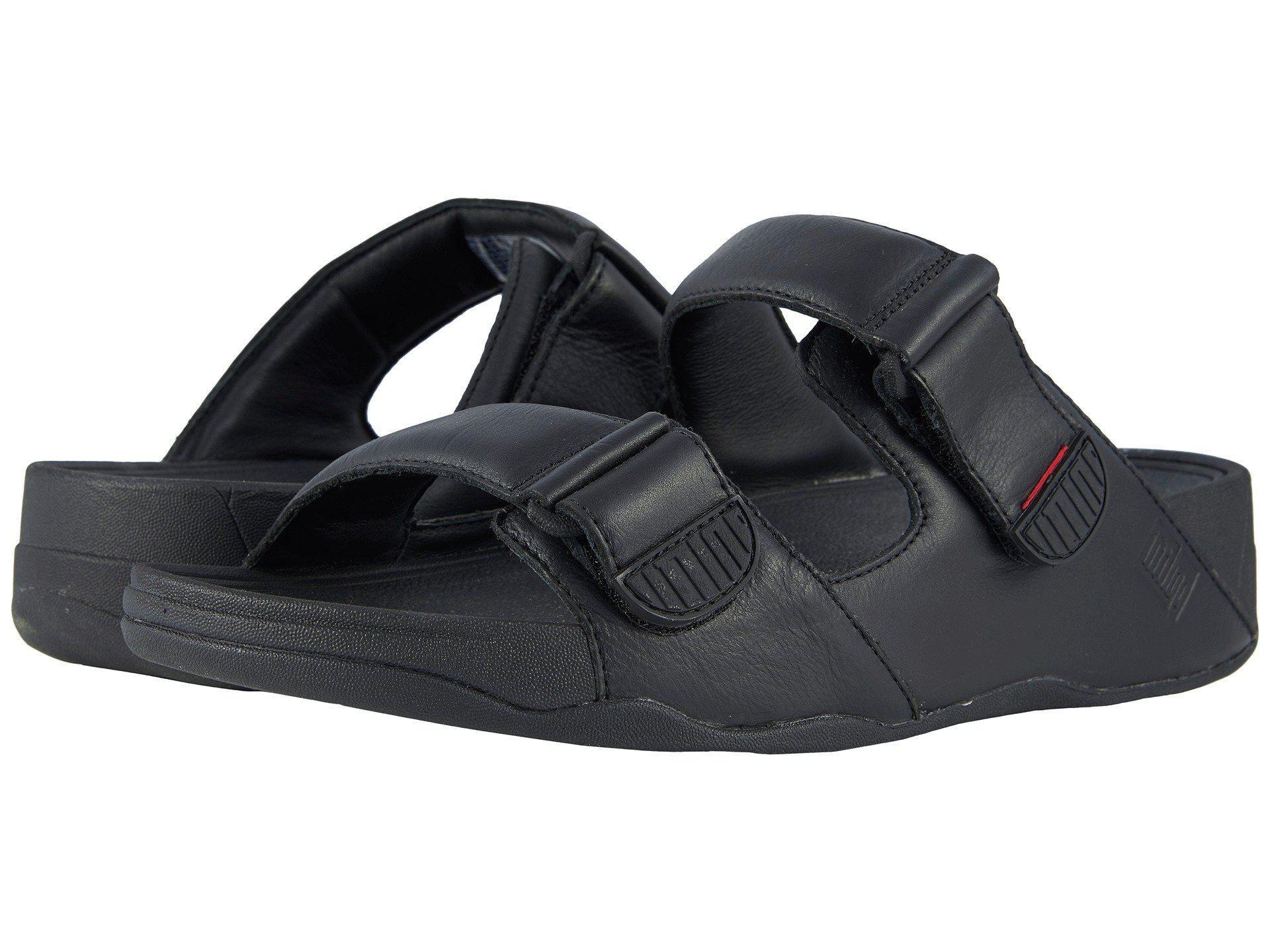 2119d7308637 Lyst - Fitflop Gogh Moc Slide (black) Men s Sandals in Black for Men