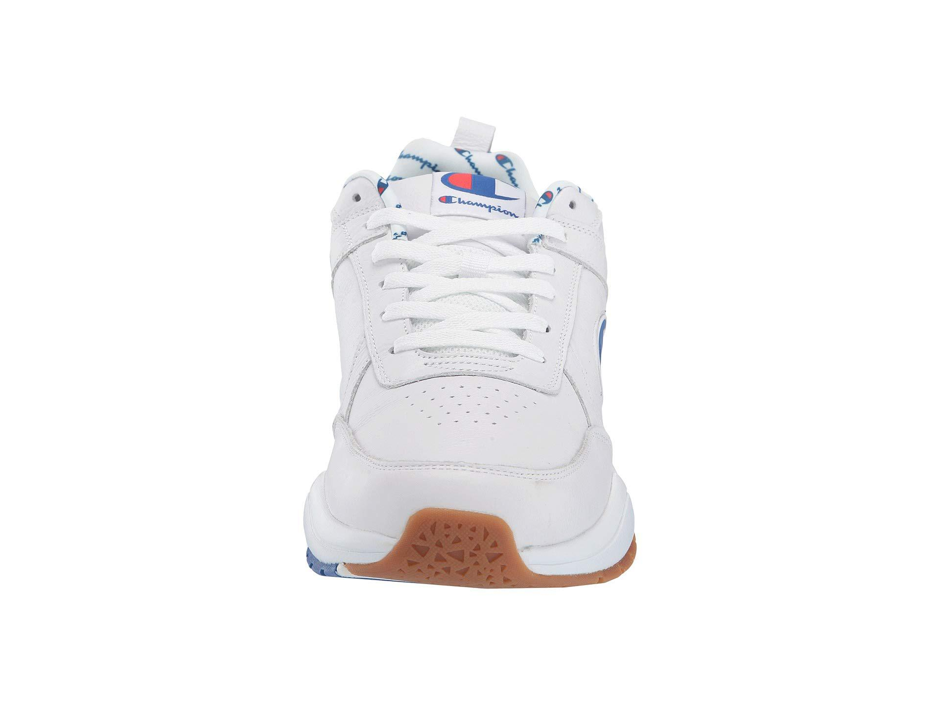 6c97e623ba8 Champion - White 93eighteen Big C (black Leather) Men s Shoes for Men - Lyst.  View fullscreen
