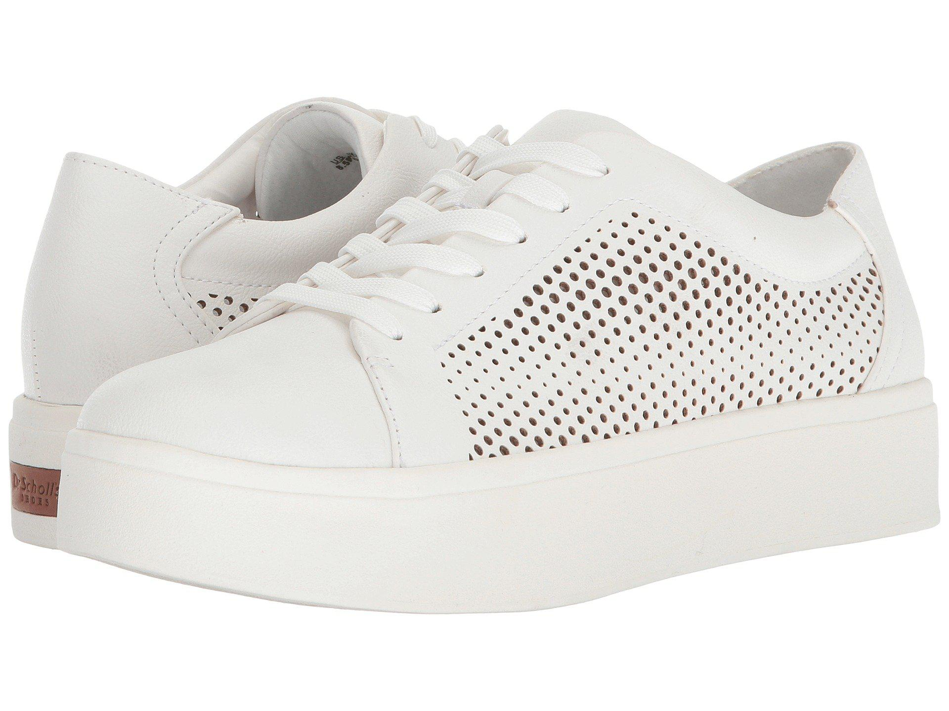 2f8b703ccc Lyst - Dr. Scholls Kinney Lace in White - Save 16%
