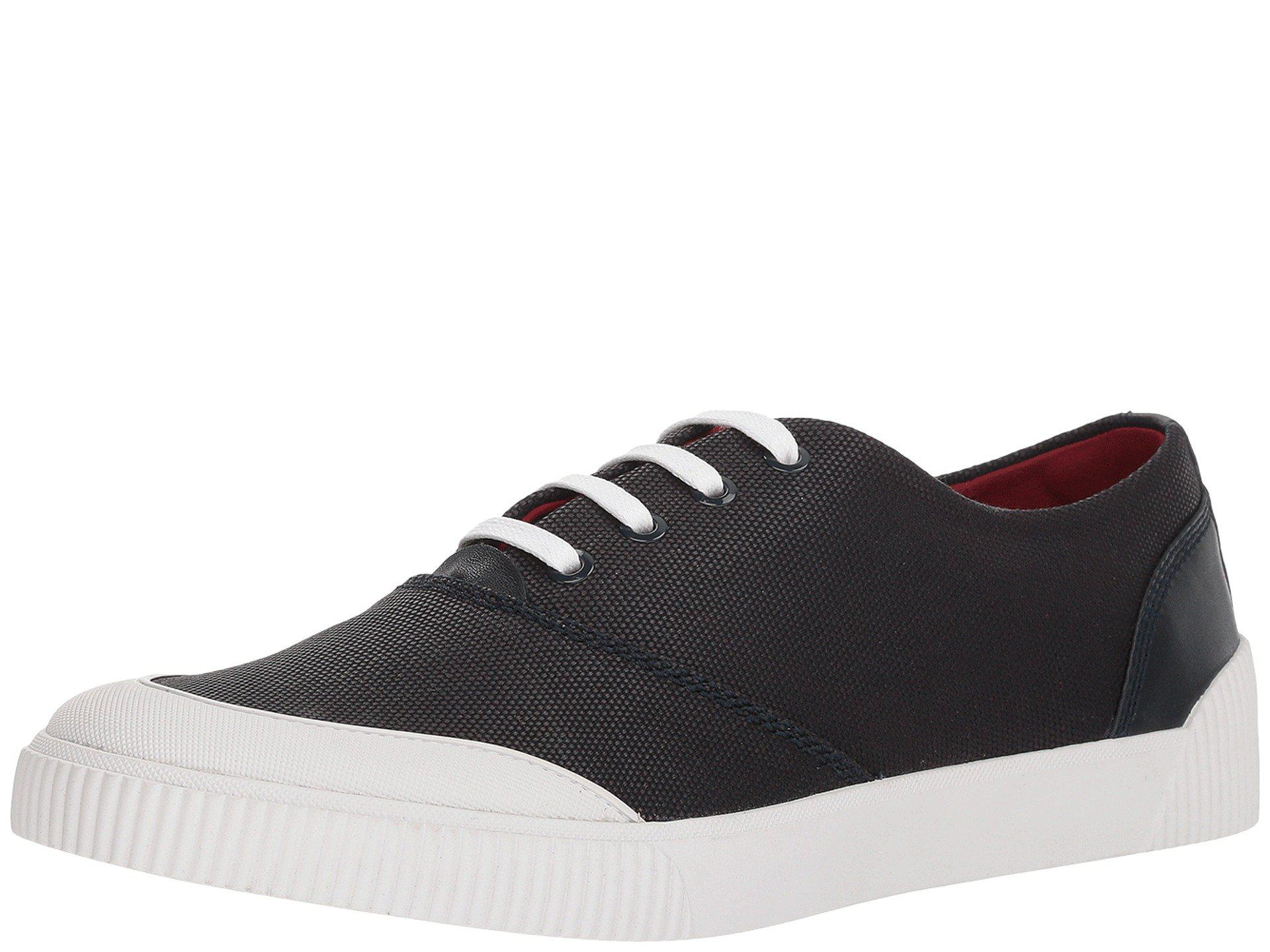 HUGO BOSS Zero Leather Sneaker in DBsiuInUPe