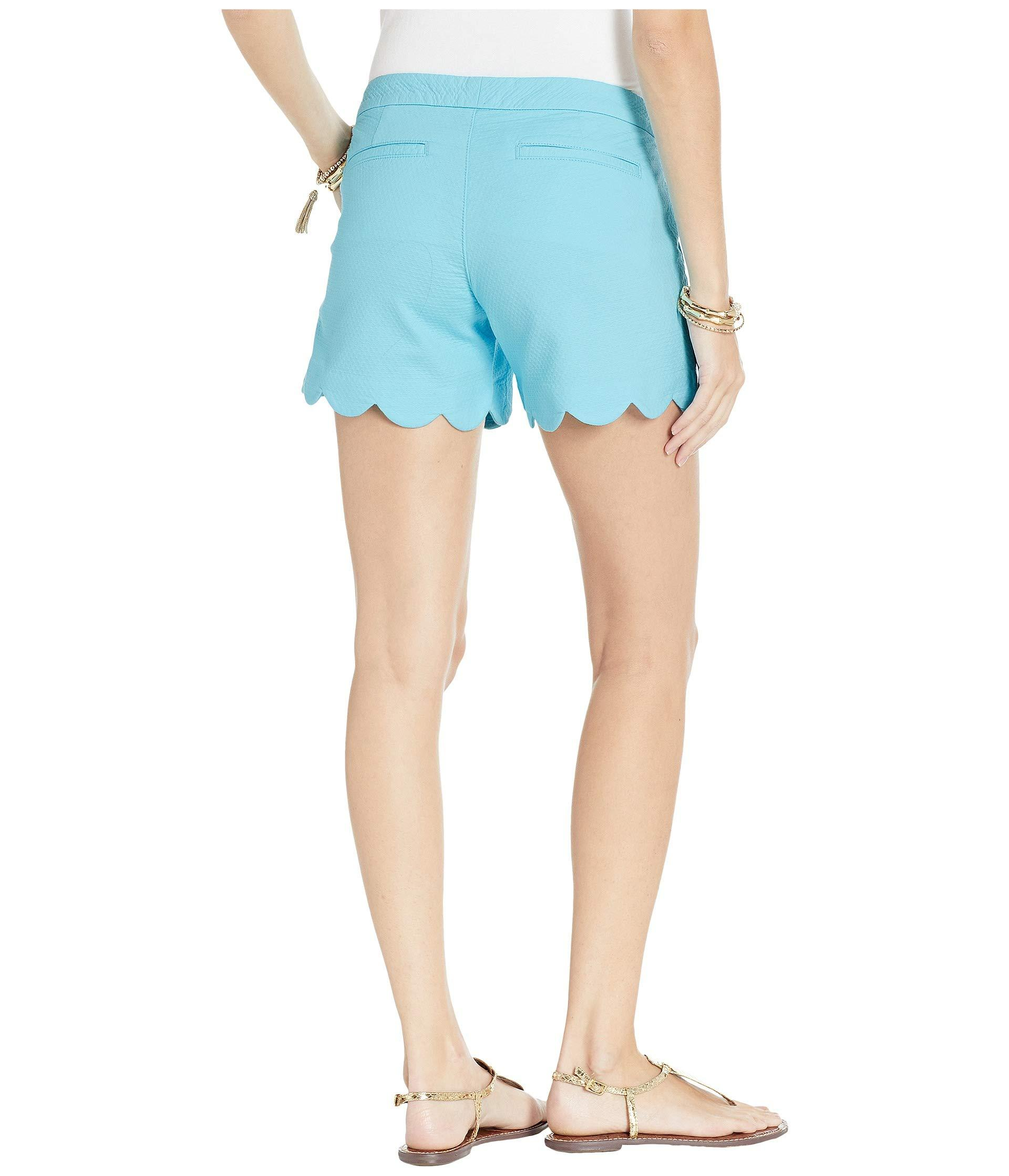 fc2288cc7a33b3 Lilly Pulitzer - Blue Buttercup Stretch Shorts (pink Tropics) Women's Shorts  - Lyst. View fullscreen