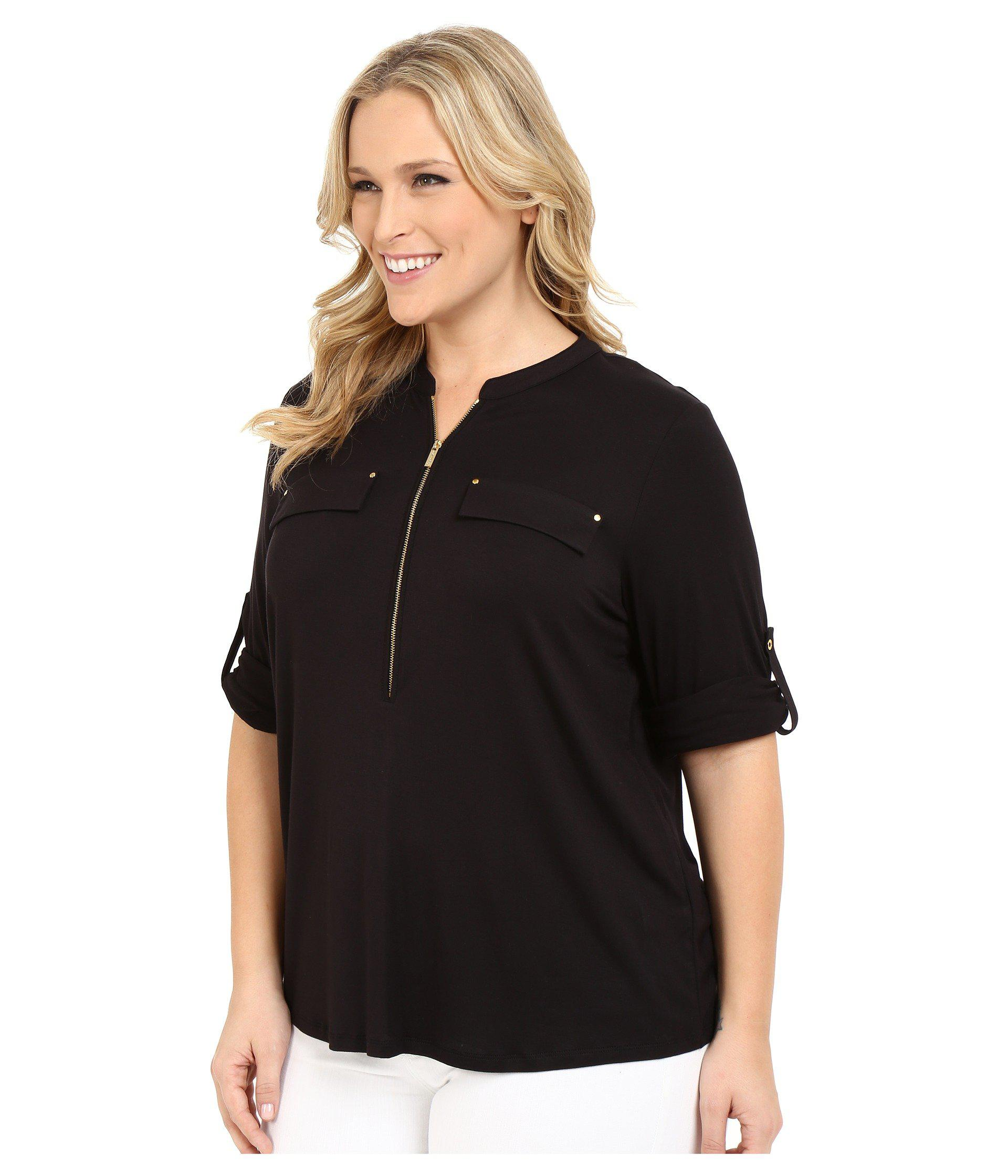 f3b221f83 Womens Black Button Front Shirt – EDGE Engineering and Consulting ...