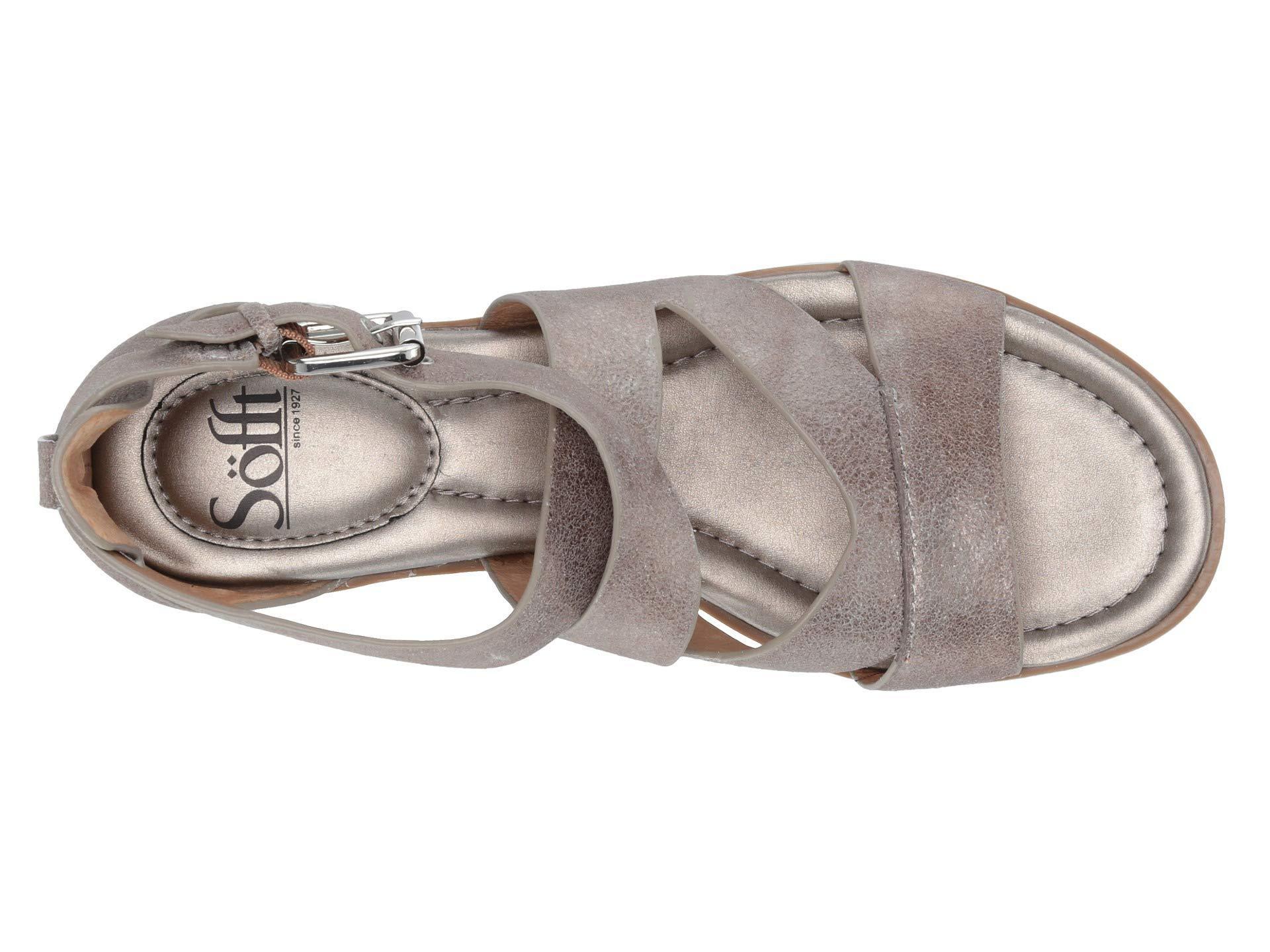 28b32c4d2398 Lyst - Söfft Mirabelle (gold natural Cork) Women s Sandals