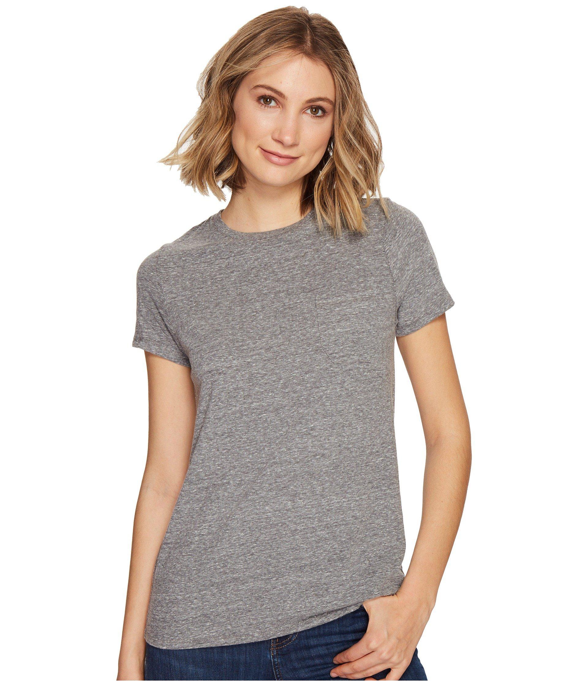 ce103bccf94 Lyst - Richer Poorer Crew Pocket Tee (green) Women s T Shirt in Gray