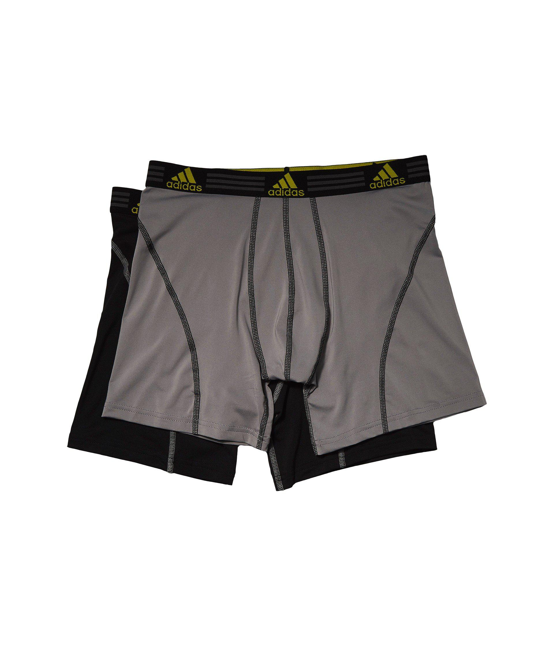 1d91ac4bc6c8 Lyst - adidas (r) Sport Performance Climalite 2-pack Boxer Brief ...