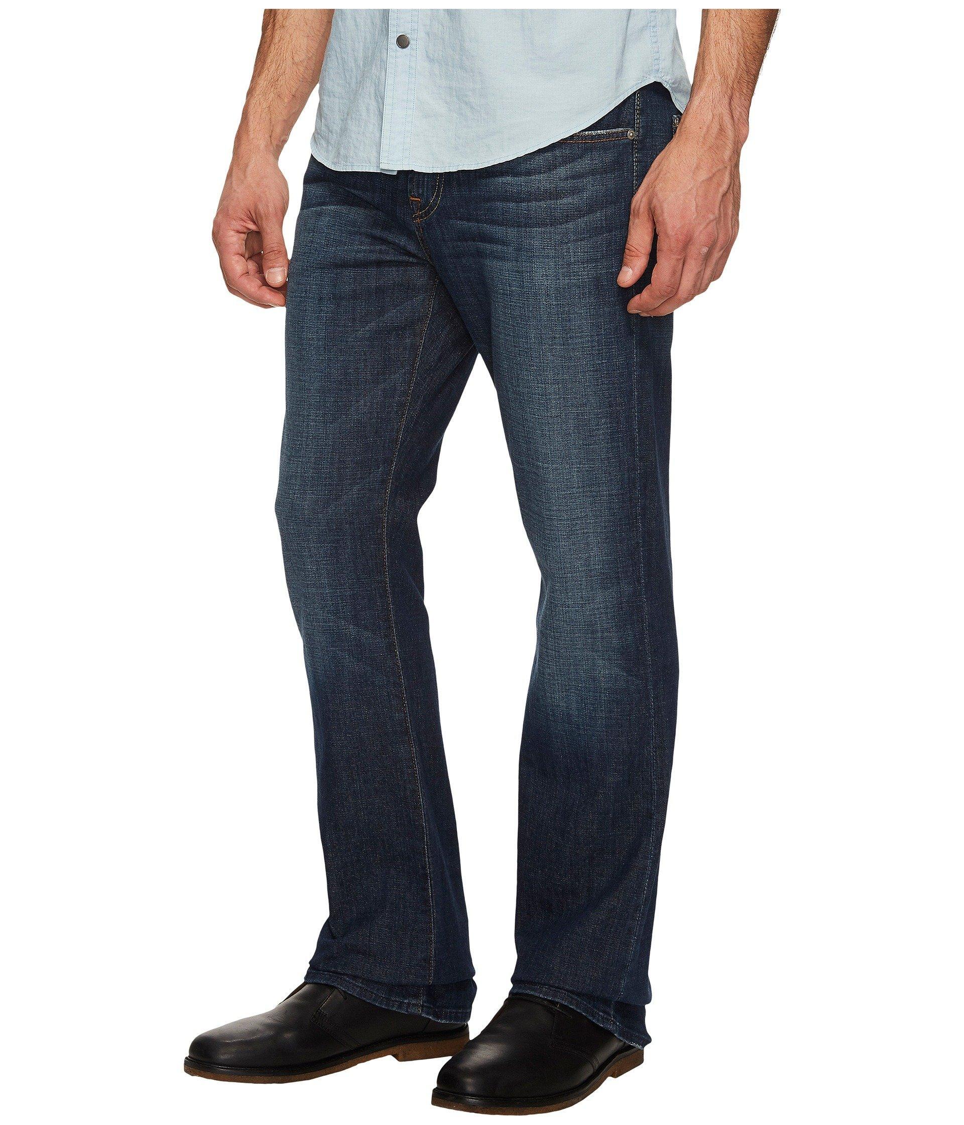 7152291c Lyst - 7 For All Mankind Brett Modern Bootcut (new York Dark) Men's Jeans  in Blue for Men