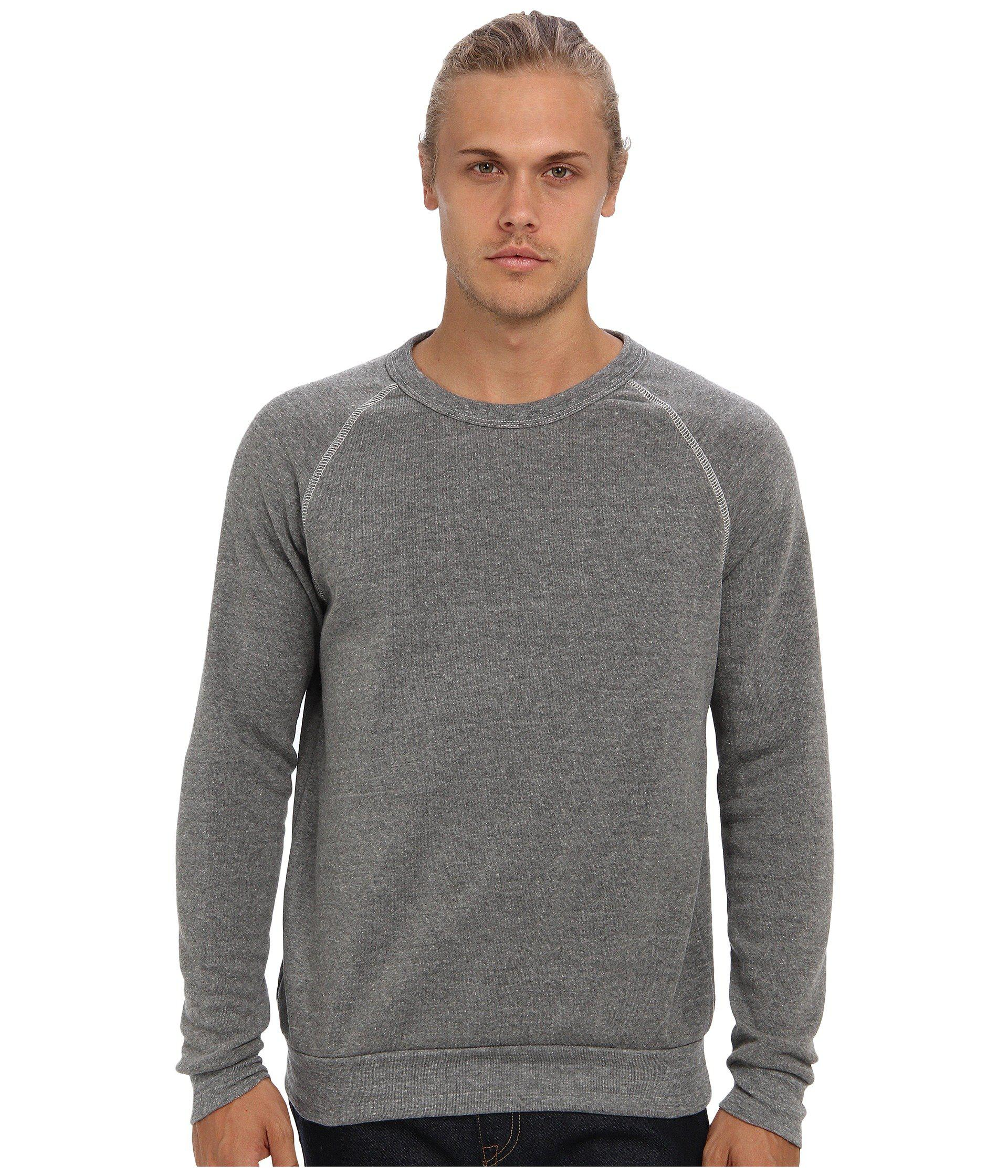 23309e1ef910 Lyst - Alternative Apparel Champ Eco Fleece Sweatshirt (eco Oatmeal ...