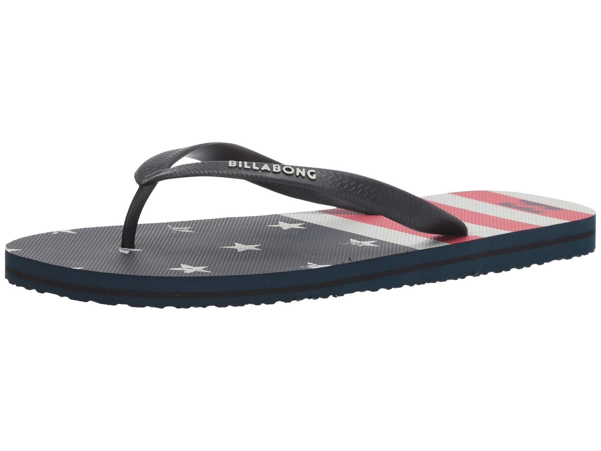 9aab09494 Lyst - Billabong Tides (red white) Men s Sandals in Blue for Men