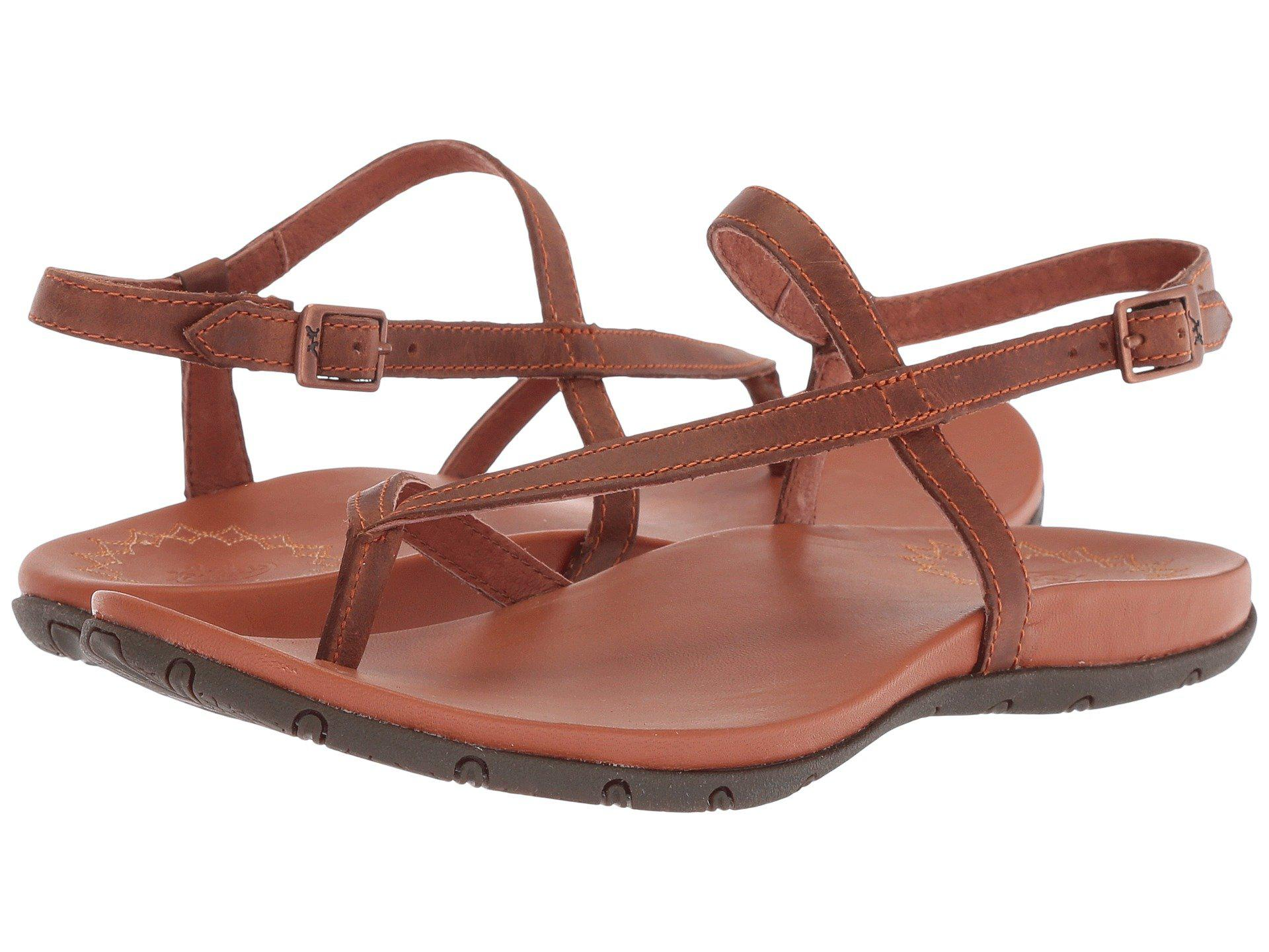 80e3a5dbceb6 Lyst - Chaco Maya Ii (rust) Women s Sandals in Brown - Save ...