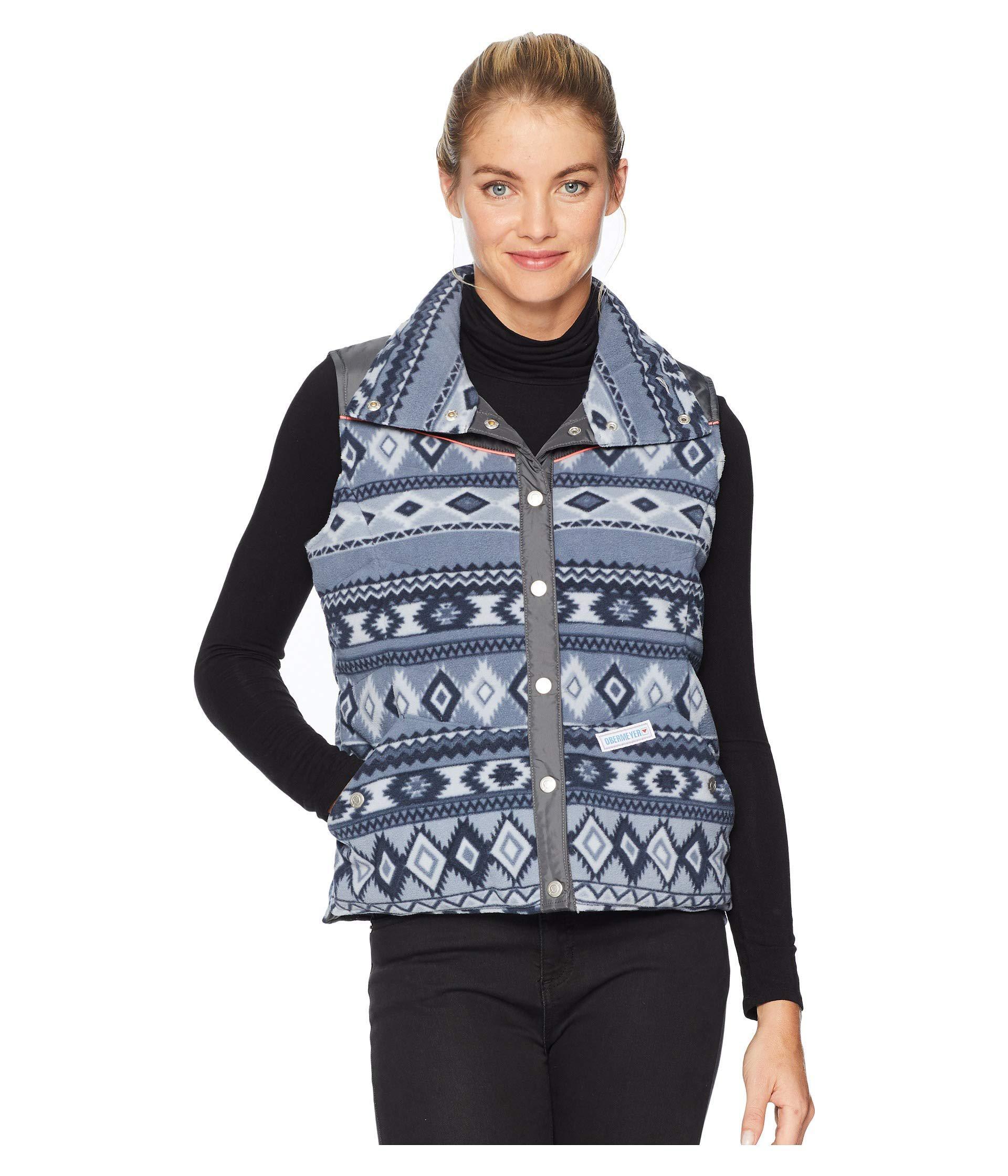 df44dbf2571 Lyst - Obermeyer Carson Down Vest (trident) Women's Sleeveless in Blue
