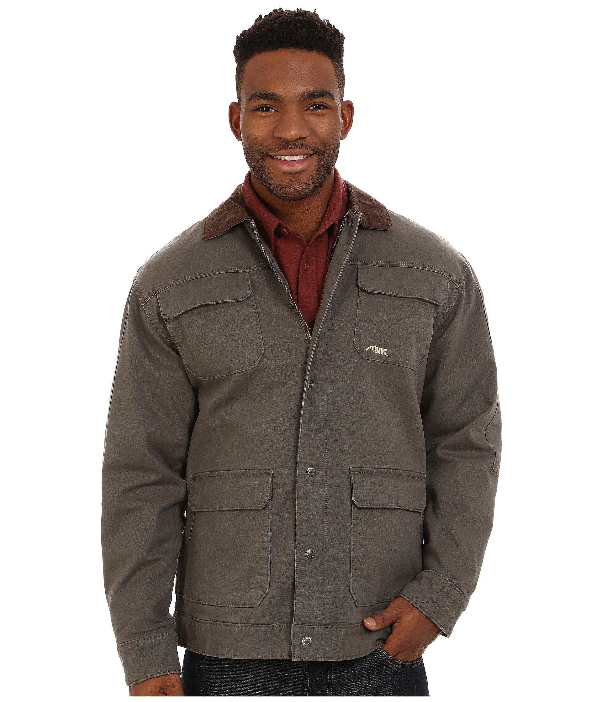 b374aa863b Lyst - Mountain Khakis Ranch Shearling Jacket (terra) Men s Coat in ...