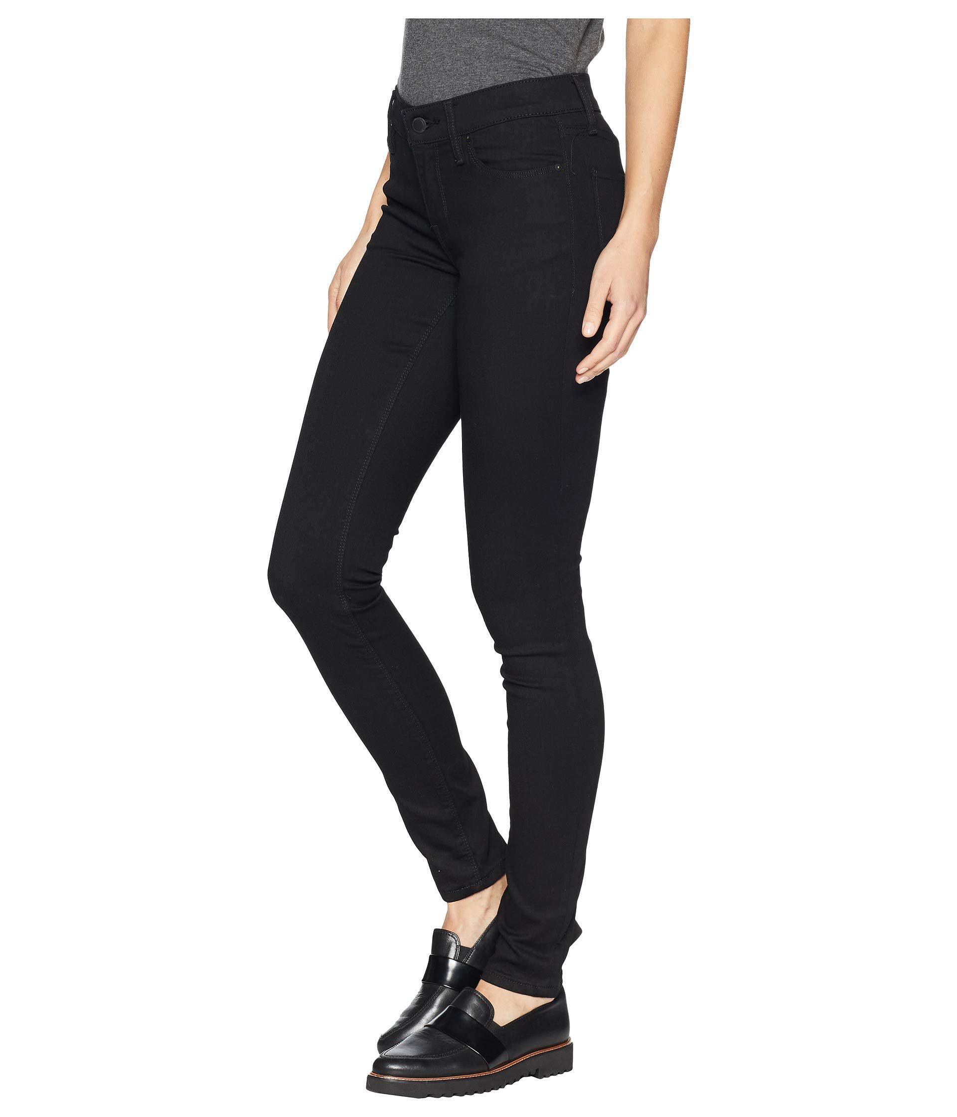 11b9978f313 Lyst - Hudson Jeans Krista Super Skinny Jeans In Black (black) Women's Jeans  in Black