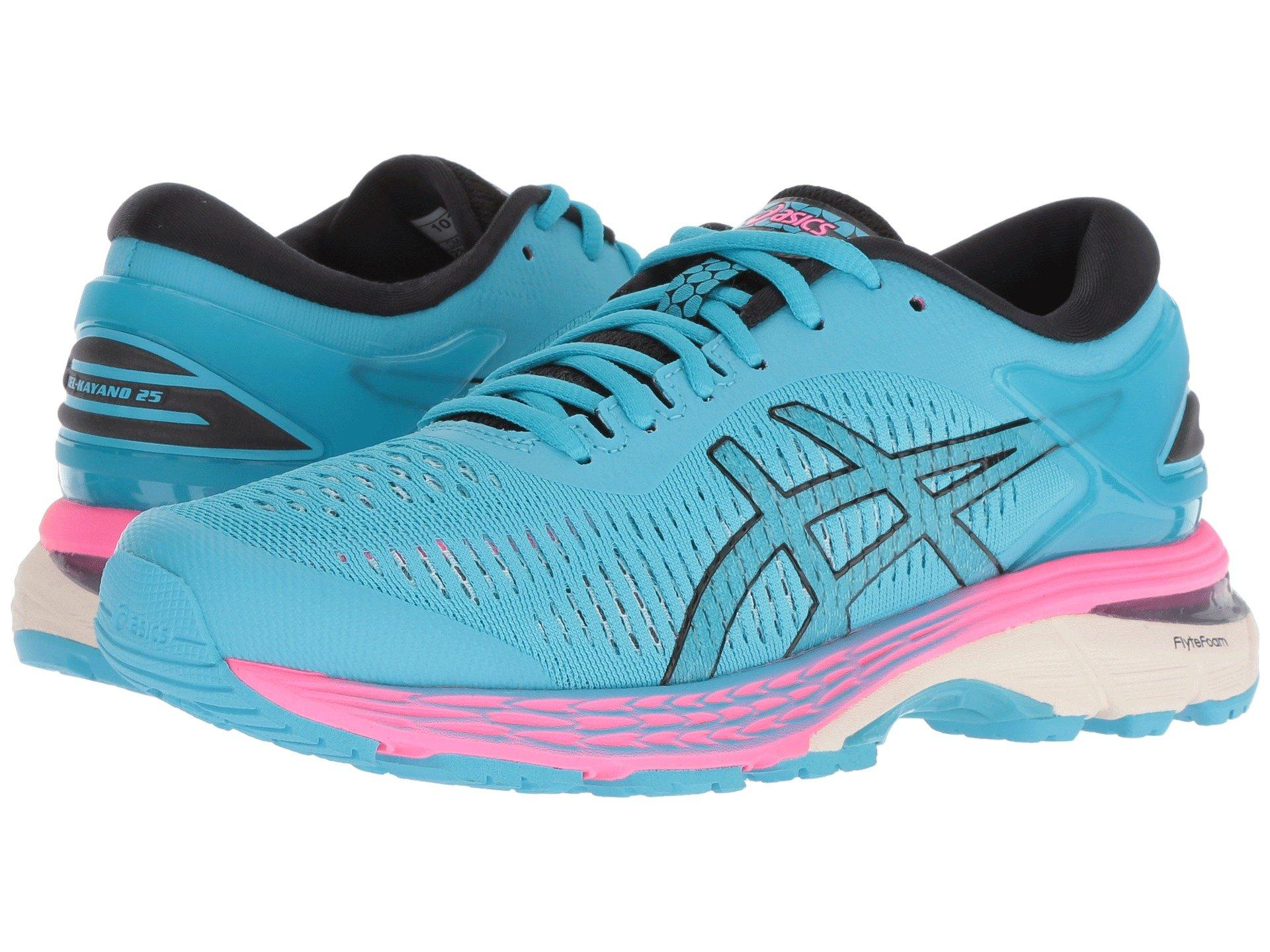 ad9e5826ebaa Asics Gel-kayano(r) 25 (mid Grey/blue Coast) Women's Running Shoes ...
