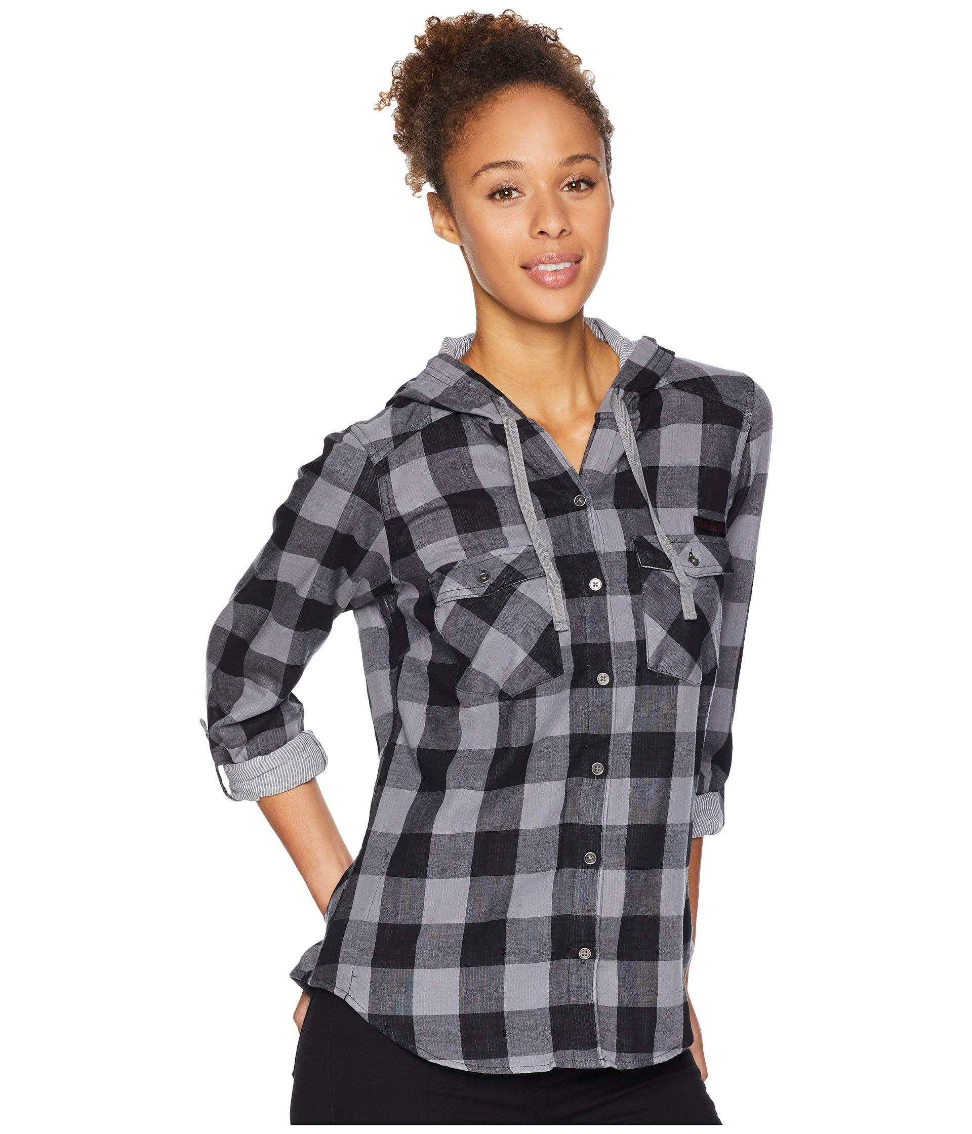 5aac72cea94 Womens Checked Hooded Shirts - BCD Tofu House