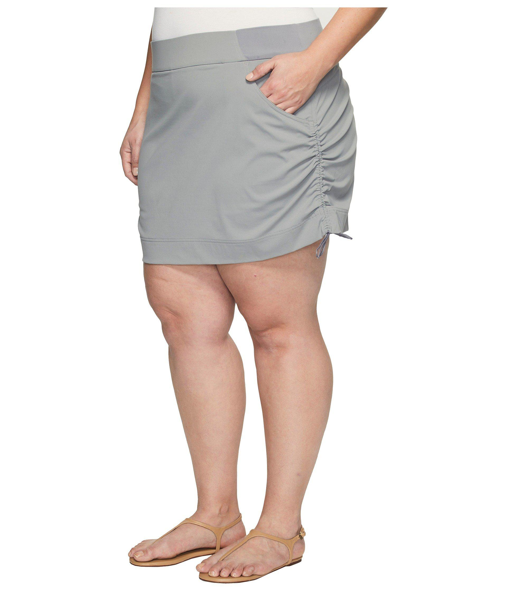 5cfbe7dab81 Lyst - Columbia Plus Size Anytime Casualtm Skort (light Grey) Women s Skort  in Gray - Save 25%
