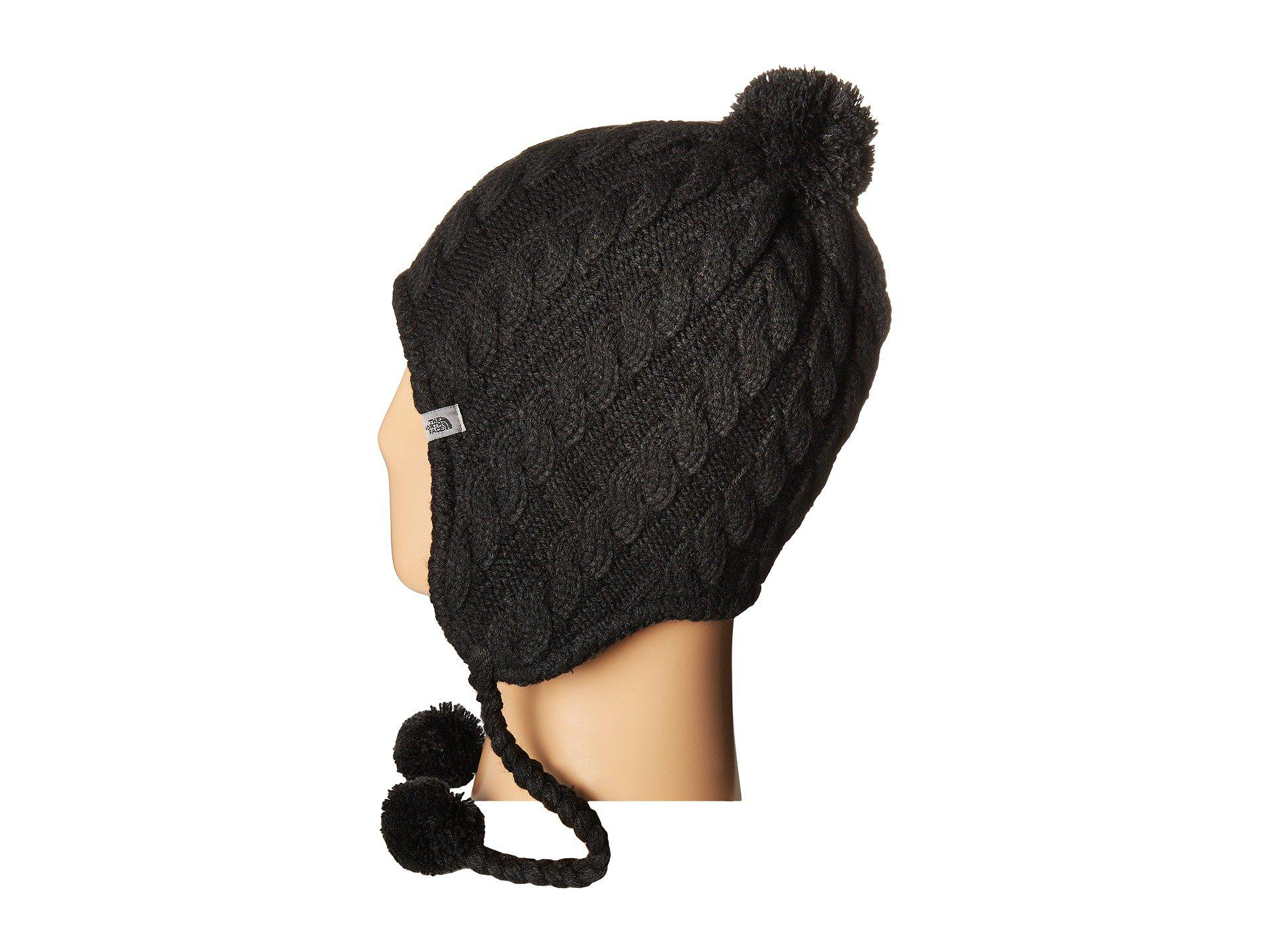 140154b225e90 The North Face Fuzzy Earflap Beanie in Black for Men - Lyst