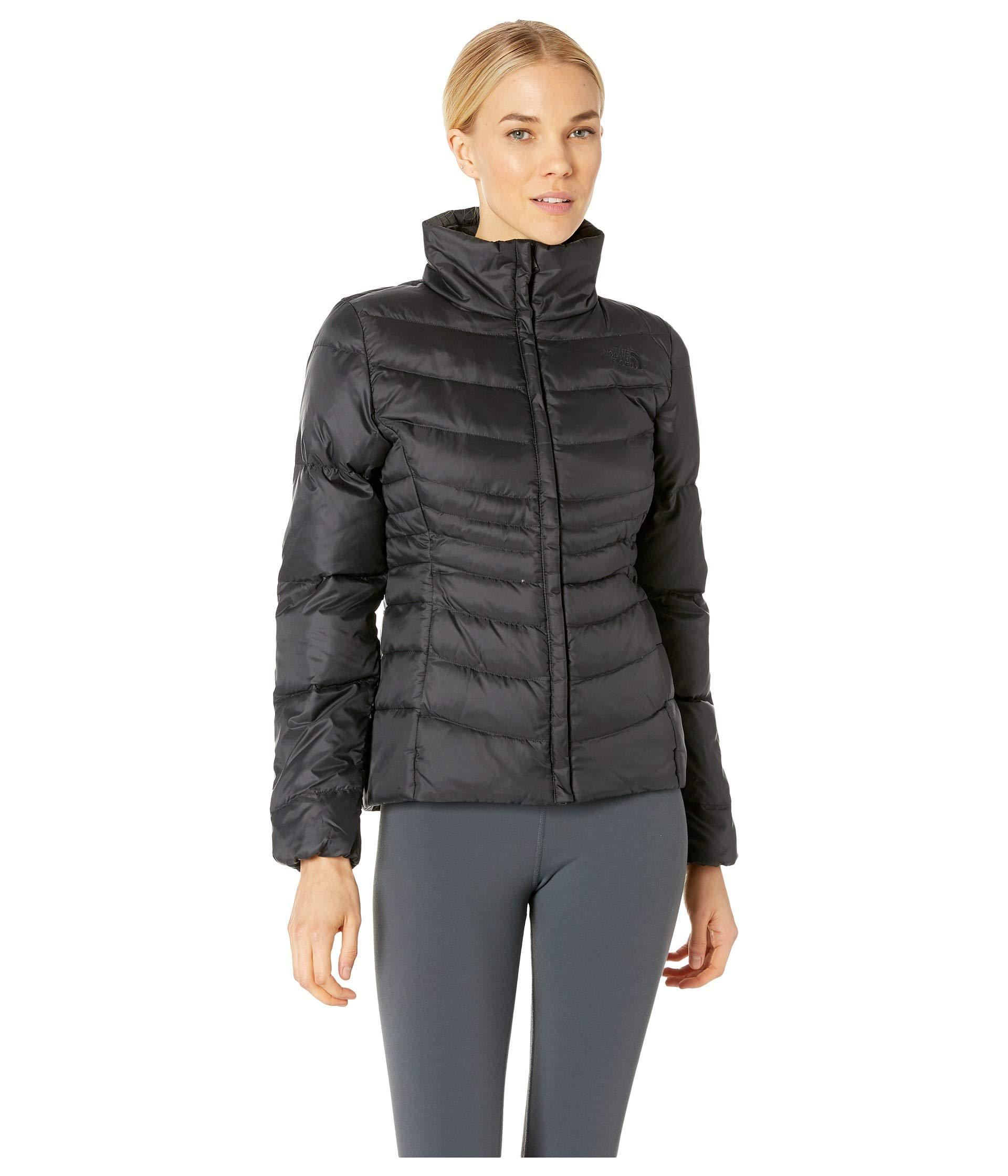 5b217fc842 The North Face. Black Aconcagua Jacket Ii (shiny Mid Grey) Women s Coat