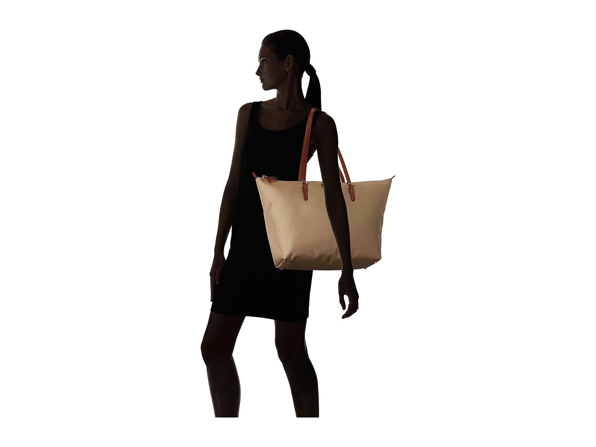 9edb50f27c Lyst - Lauren by Ralph Lauren Chadwick Tote Medium (black) Tote ...