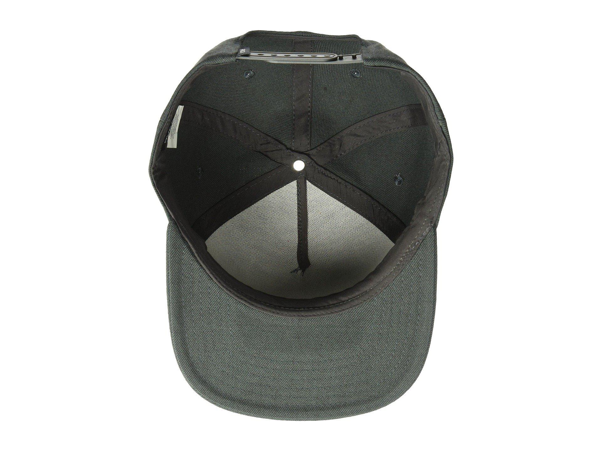 low priced b6c76 70cf9 ... 2018 new style 3648b 555d4  norway lyst rvca ensign snapback black caps  in black for men 292d3 46296
