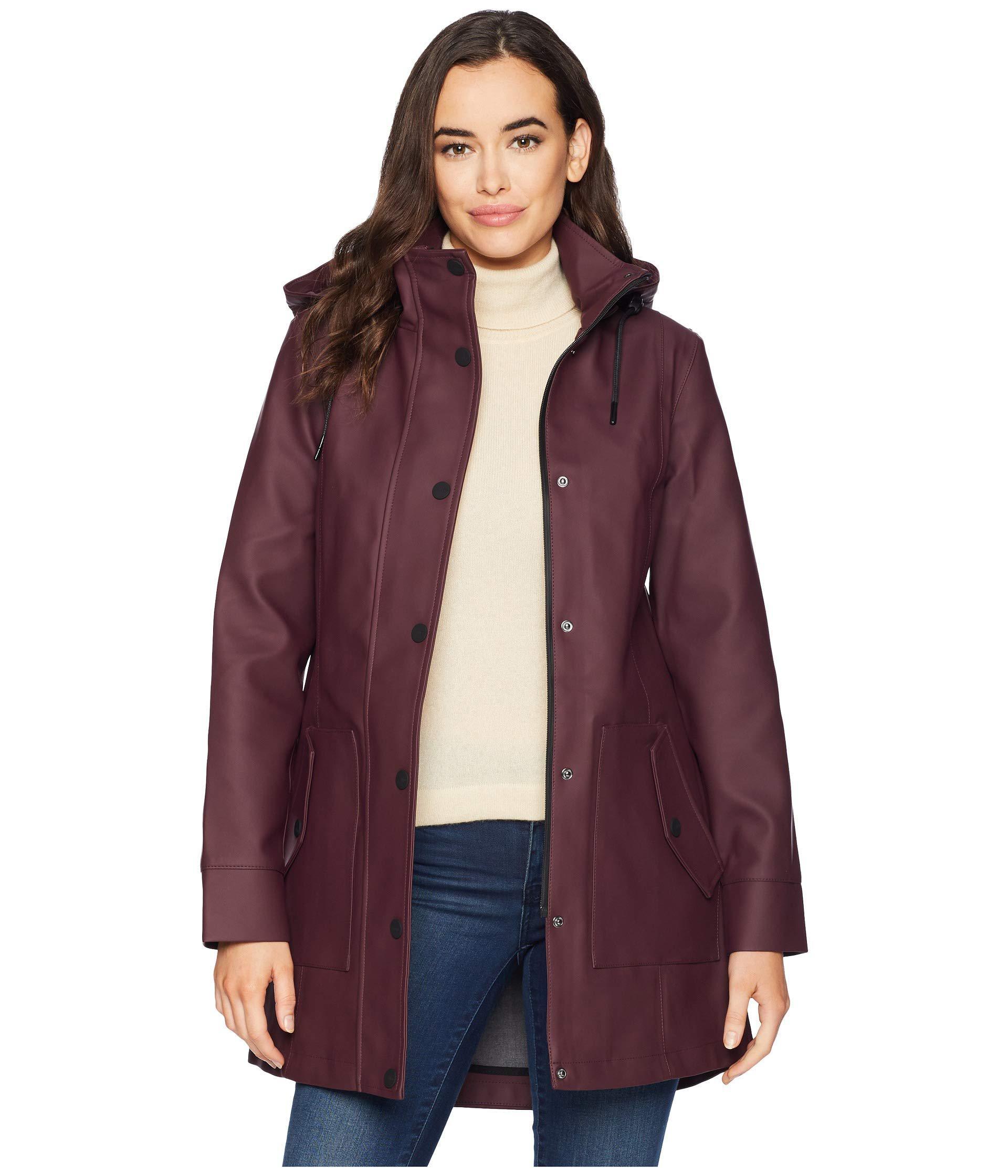 Lyst ugg rain jacket black women coat in purple ugg coats trench jpg  1920x2240 Ugg coats 48ee9f0ab