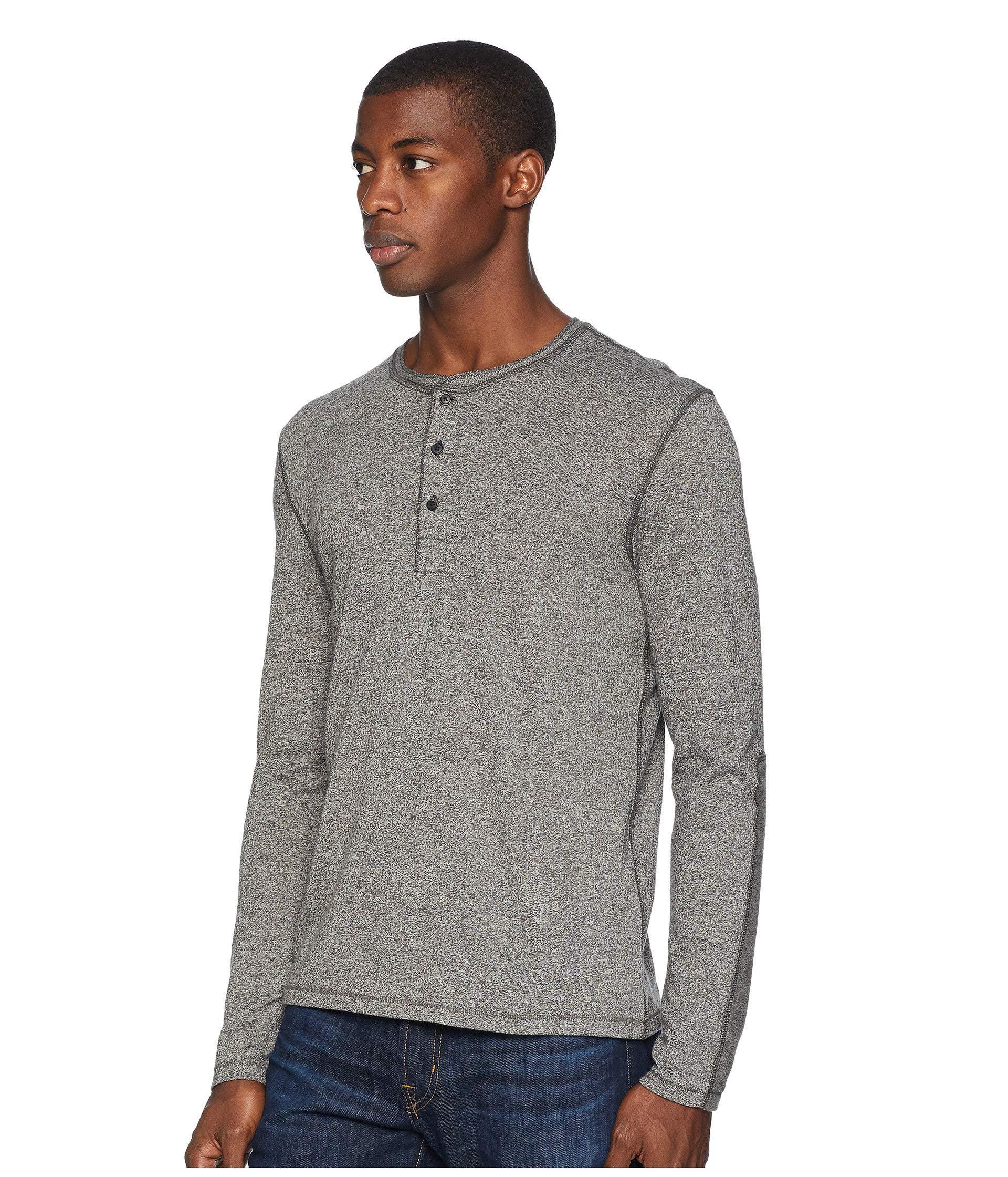 c536af6bd55 Lyst billy reid mouline henley grey mens clothing in gray for men save jpg  1920x2240 Grey