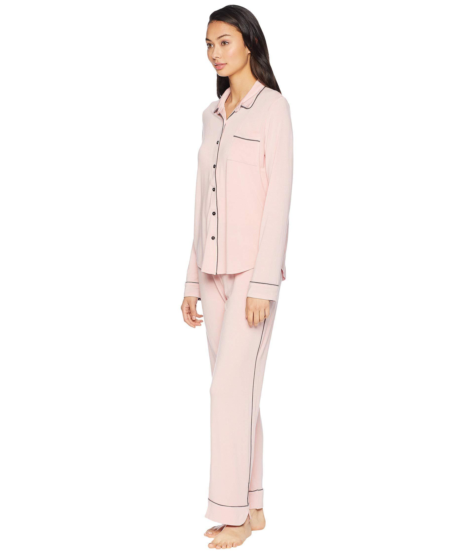 e01150e098 Lyst - Pj Salvage Modal Basic Pj Set With Eye Mask (black) Women s Pajama  Sets in Pink