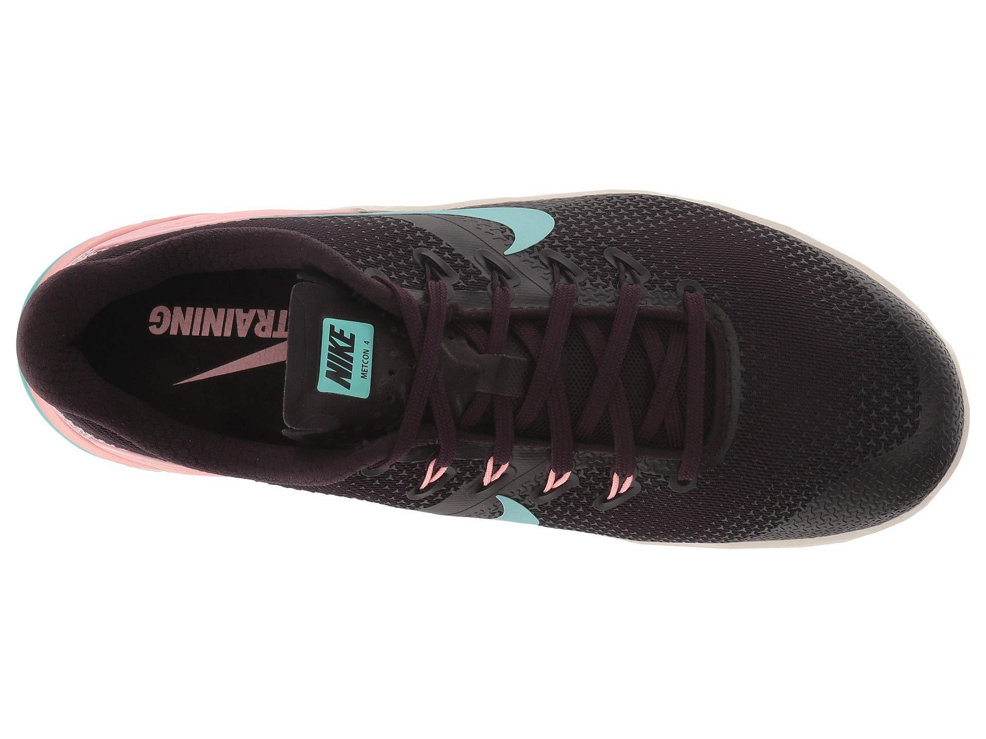 Lyst - Nike Metcon 4 (black metallic Silver white volt Glow) Women s ... 68cb3086f