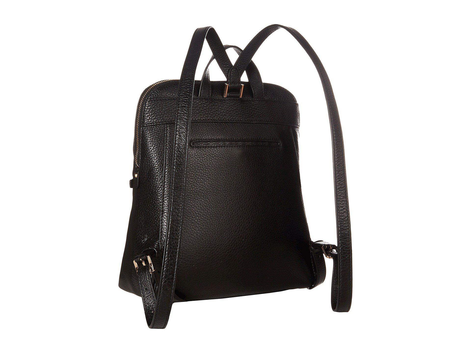 2cf36dfd69d2b MICHAEL Michael Kors - Black Rhea Zip Medium Slim Backpack (acorn) Backpack  Bags -. View fullscreen