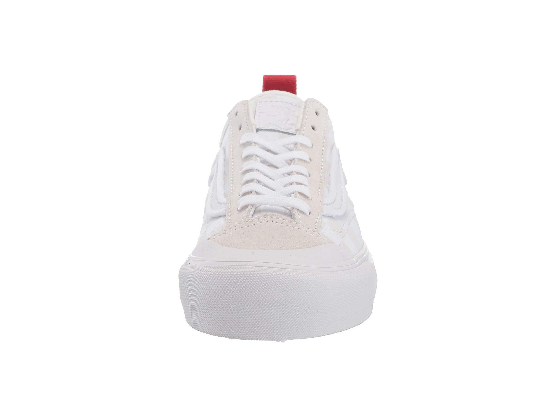 5db7c4f2bba047 Lyst - Vans Style 36 Decon Sf ((leila Hurst) White checkeroard ...