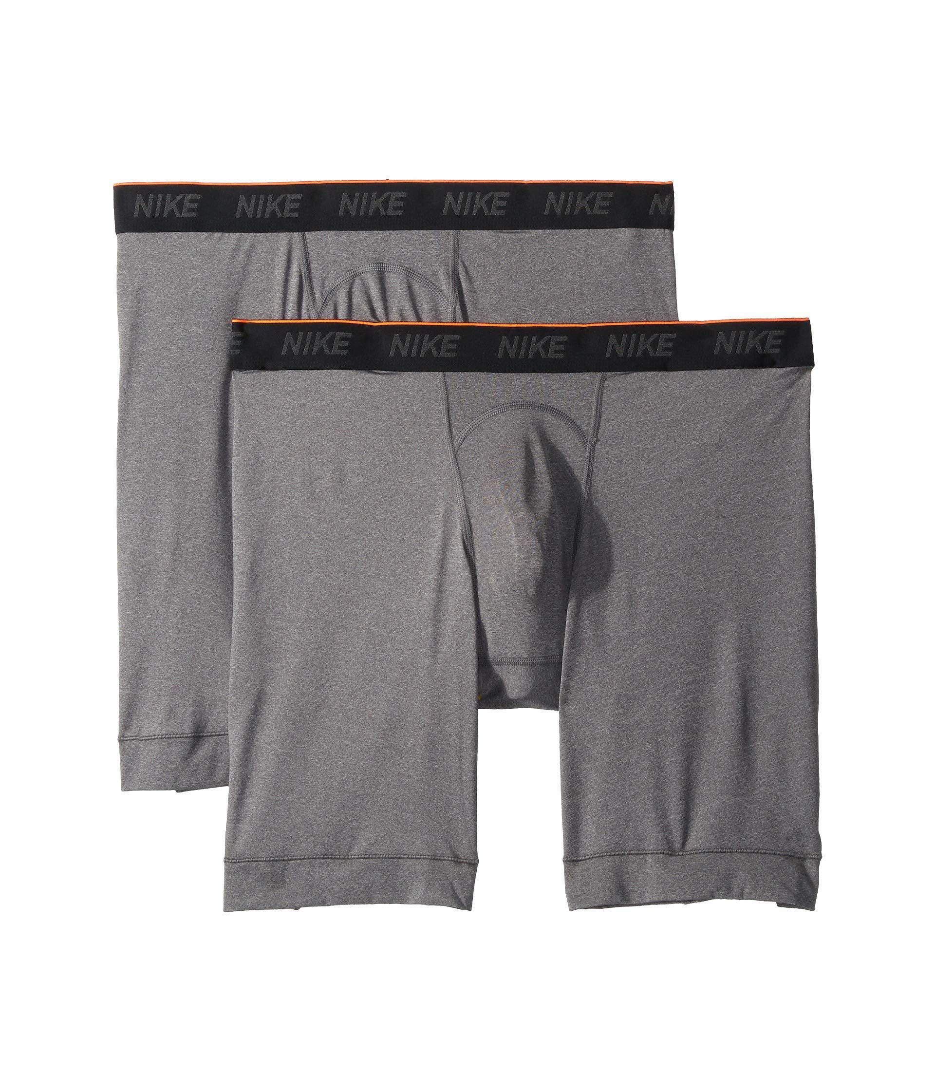 official photos b8095 62ecd Nike Brief Long 2-pair Pack (anthracite black white) Men s Underwear ...