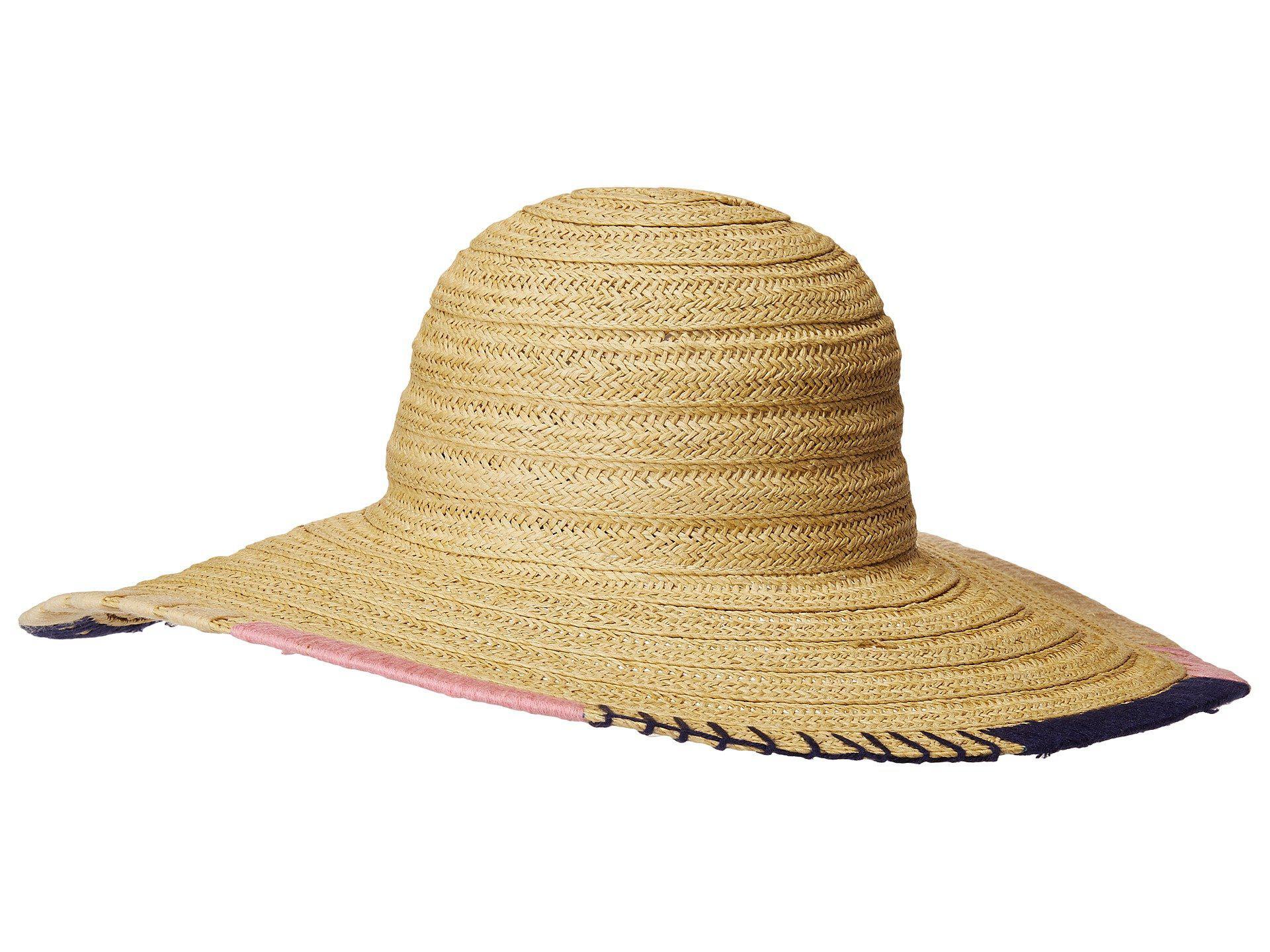 Lyst - San Diego Hat Company Ubl6805os Sun Brim W  Hand Stitch ... 1152af984f15