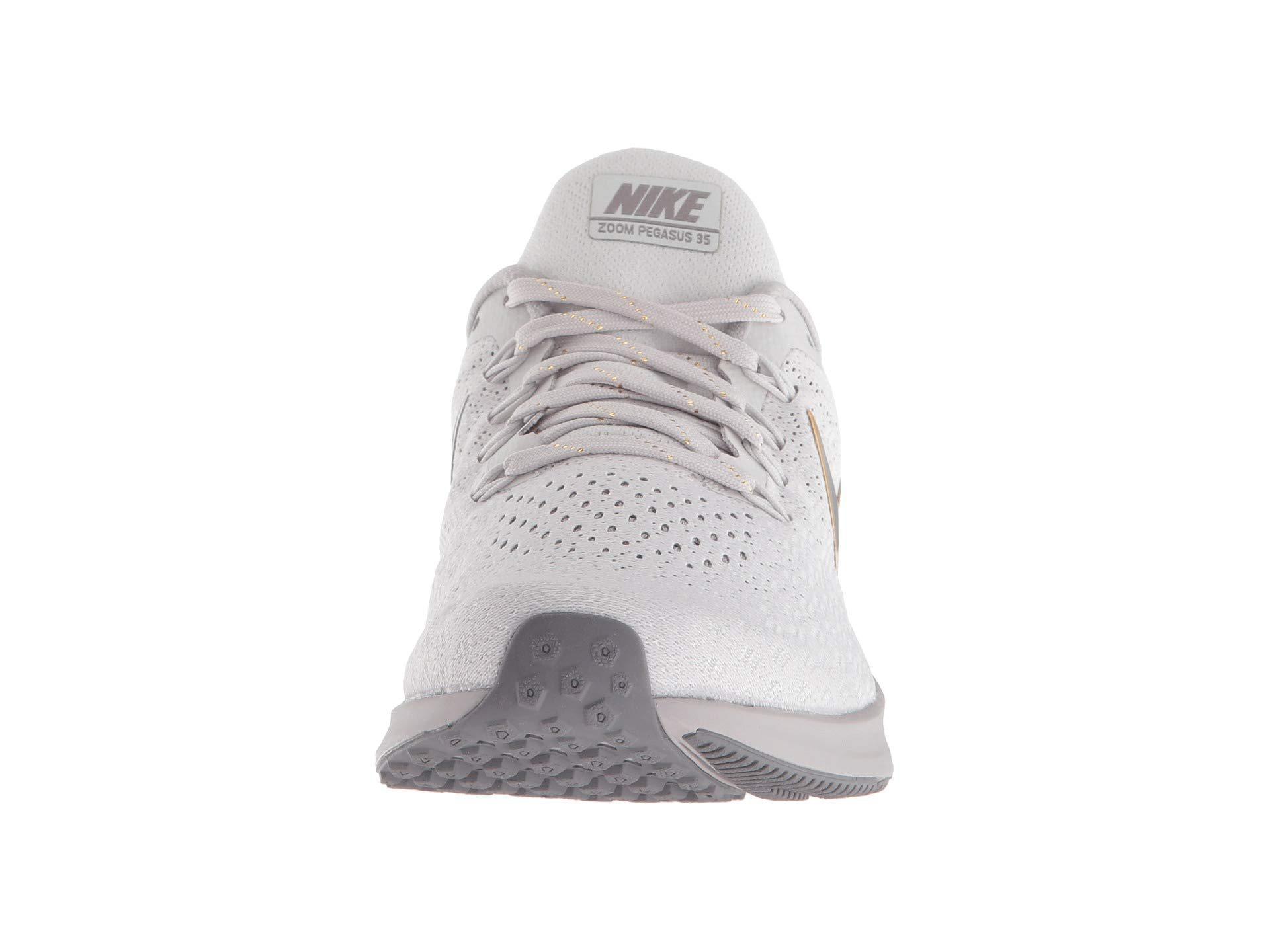 62420a0af7d47 Nike - Gray Air Zoom Pegasus 35 Premium (vast Grey metallic Platinum  atmosphere. View fullscreen