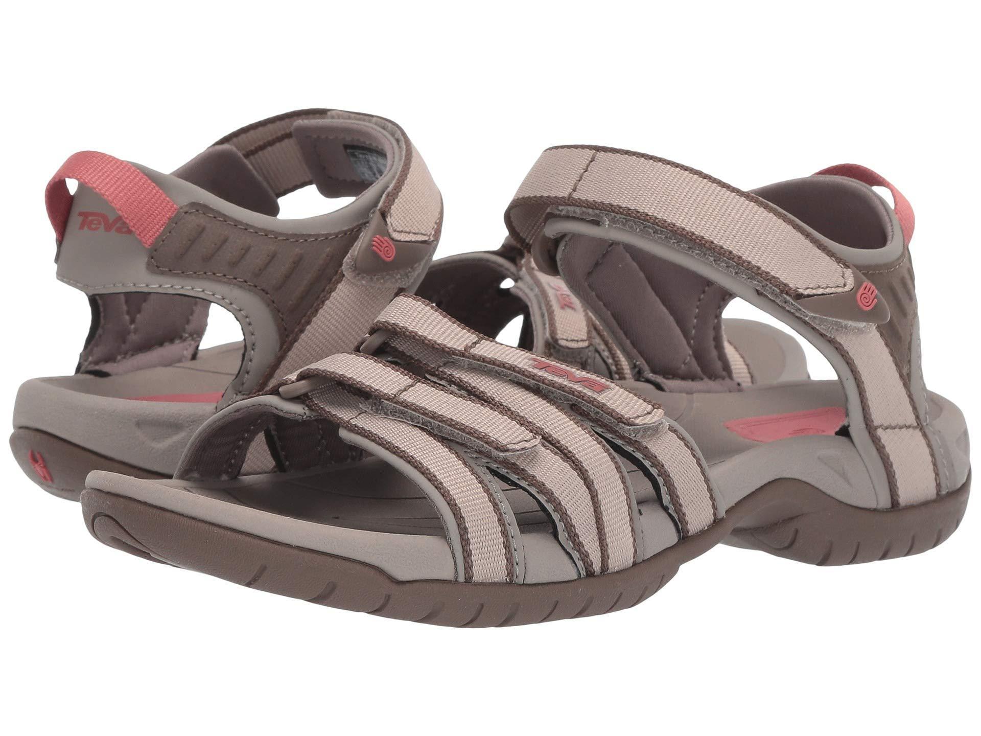 db216657206 Lyst - Teva Tirra (hera Gray Mist) Women's Sandals in Brown