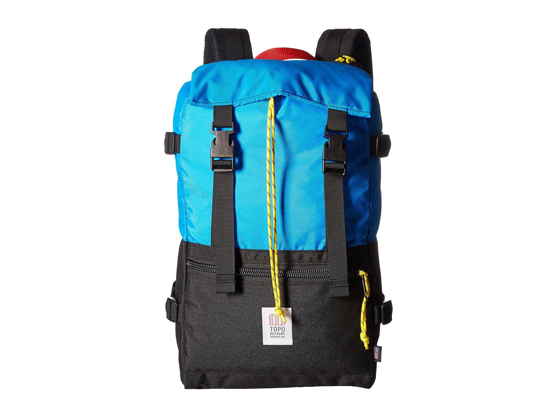 55adc006b Topo Designs Rover Pack (navy) Backpack Bags in Black for Men - Lyst