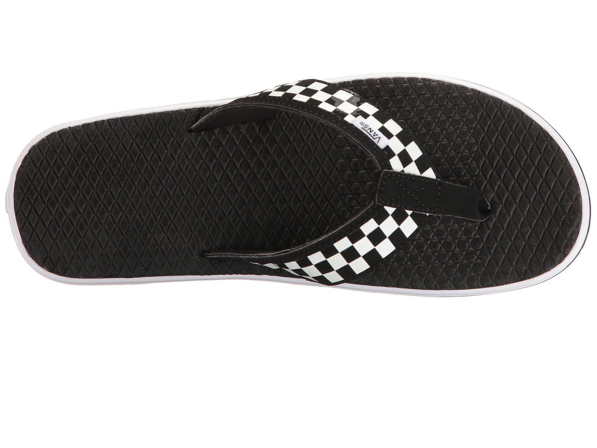 97080c0736 Vans - La Costa Lite ((checkerboard) Black white) Men s Sandals for. View  fullscreen