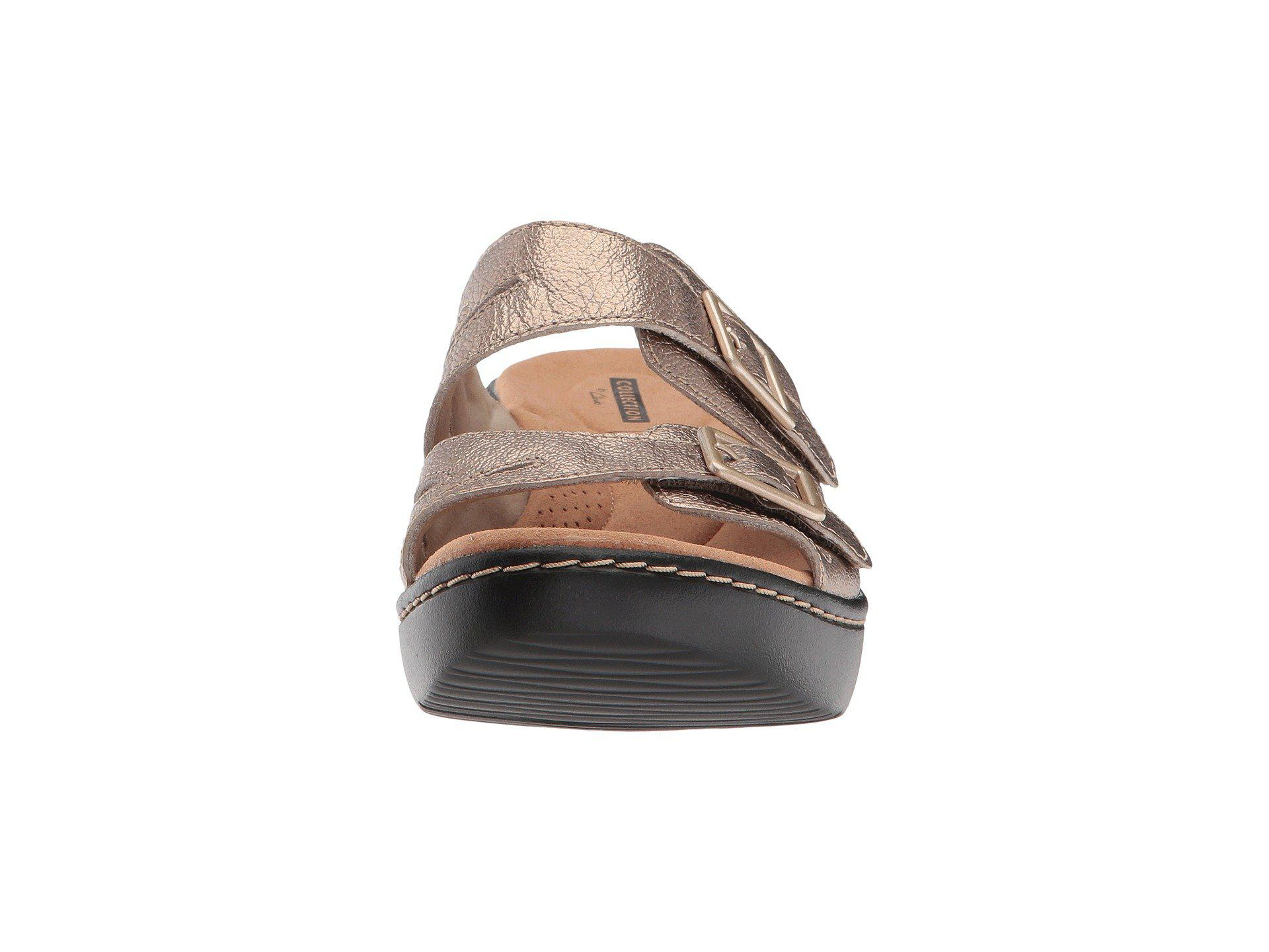 17633064d9a Clarks - Multicolor Delana Liri (dark Tan Leather) Women s Shoes - Lyst.  View fullscreen