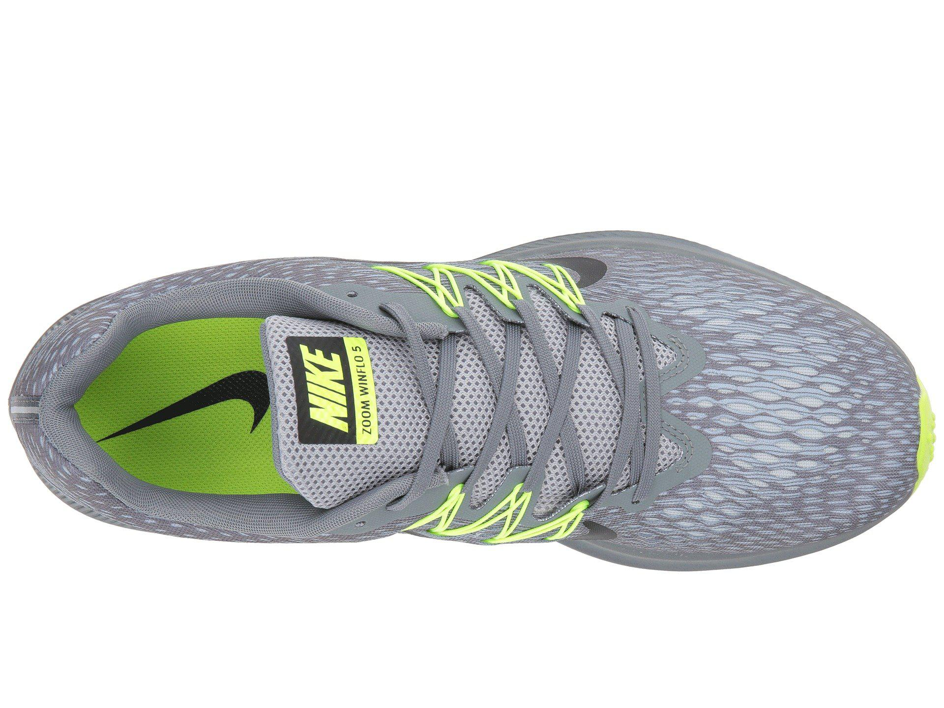 9e0a5e0f190a Nike - Gray Air Zoom Winflo 5 (black anthracite) Men s Running Shoes for.  View fullscreen
