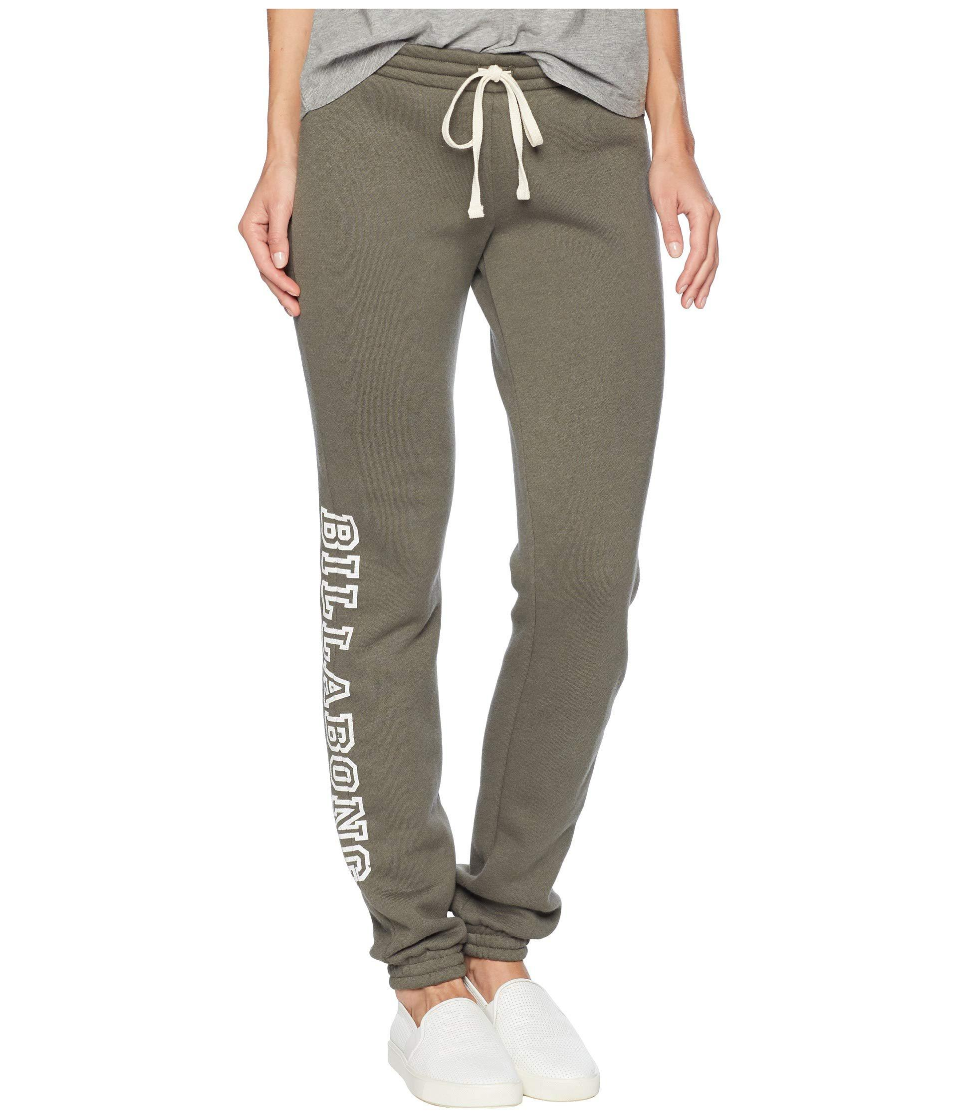 18f46a8a6f4b8 Lyst - Billabong Night Riders Pants (olive) Women's Casual Pants in ...