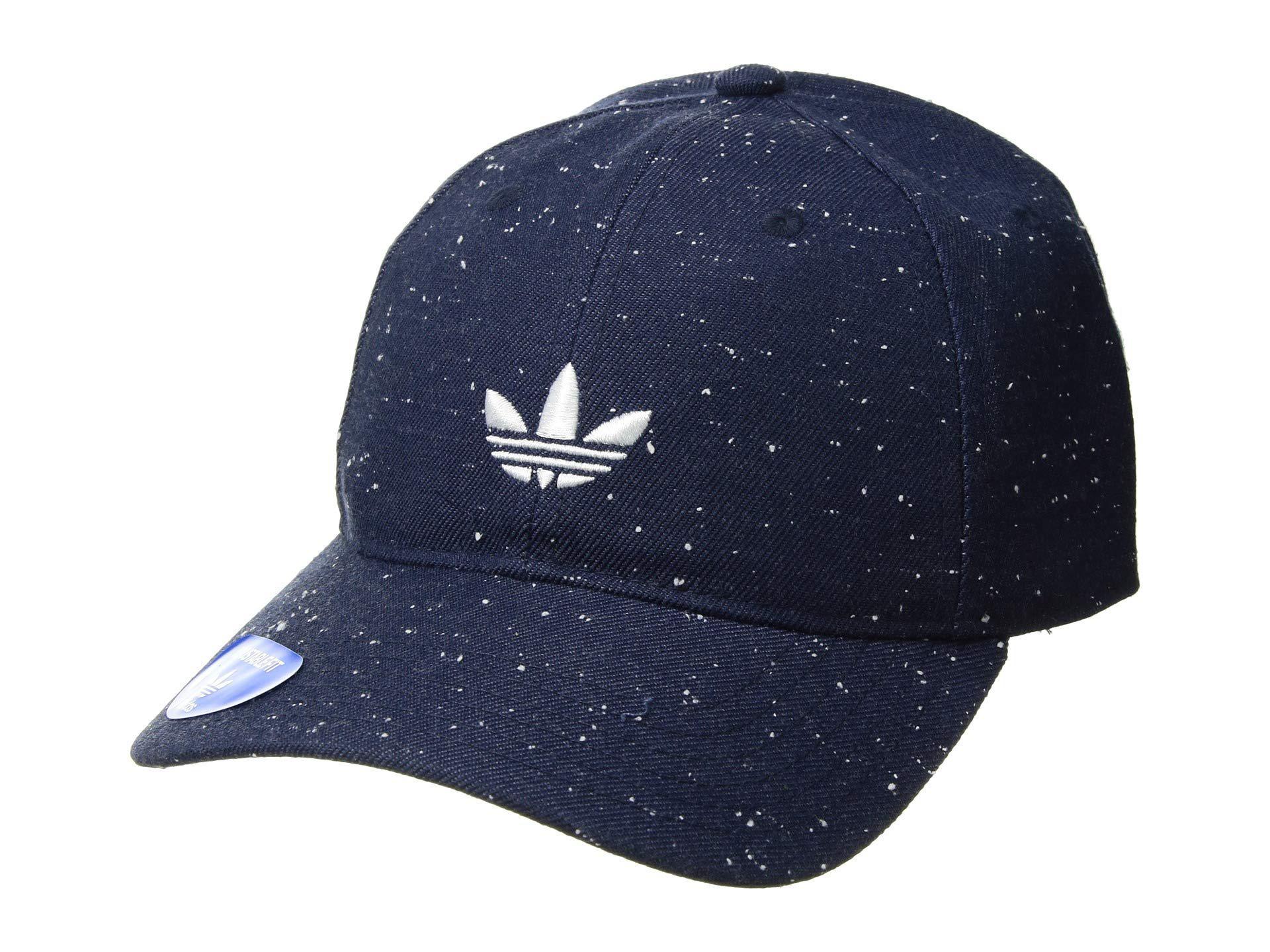 c2dcf0595fa adidas Originals. Men s Blue Originals Relaxed Wool Strapback (clear Brown  black) Caps