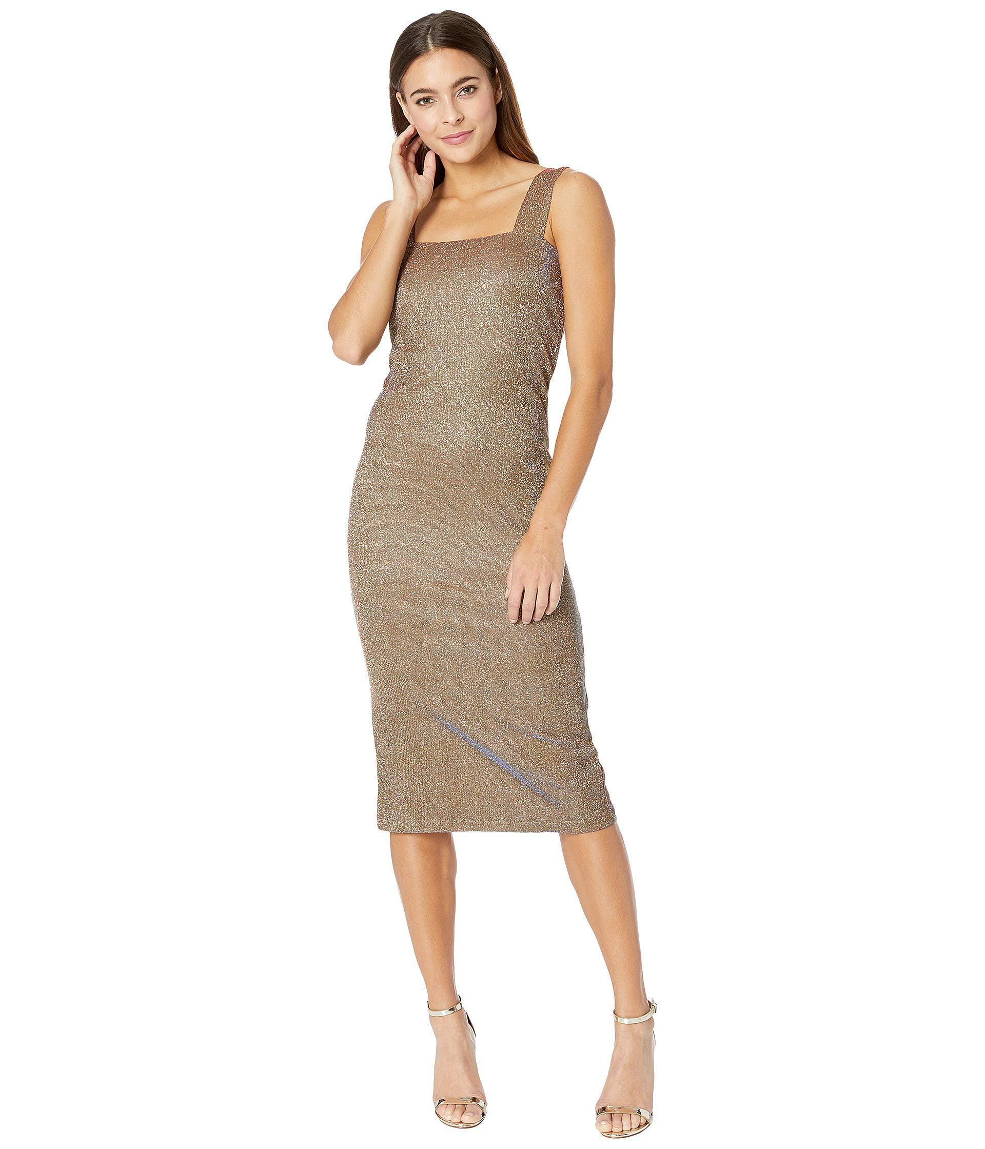 3a7f23b19c4e Lyst - Bardot Mimi Sparkle Dress (gold) Women s Dress in Metallic