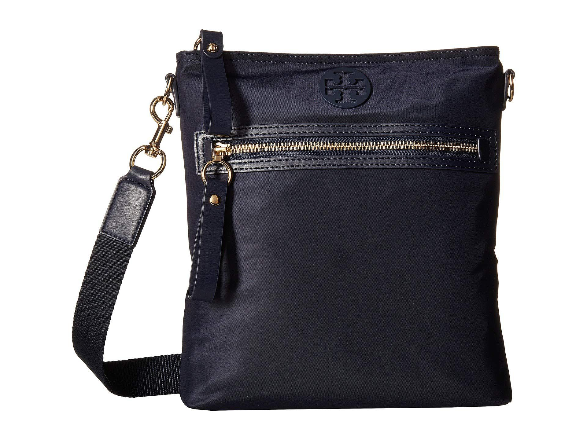 69fe0fe85b8 Lyst - Tory Burch Tilda Swingpack (black) Cross Body Handbags in Blue