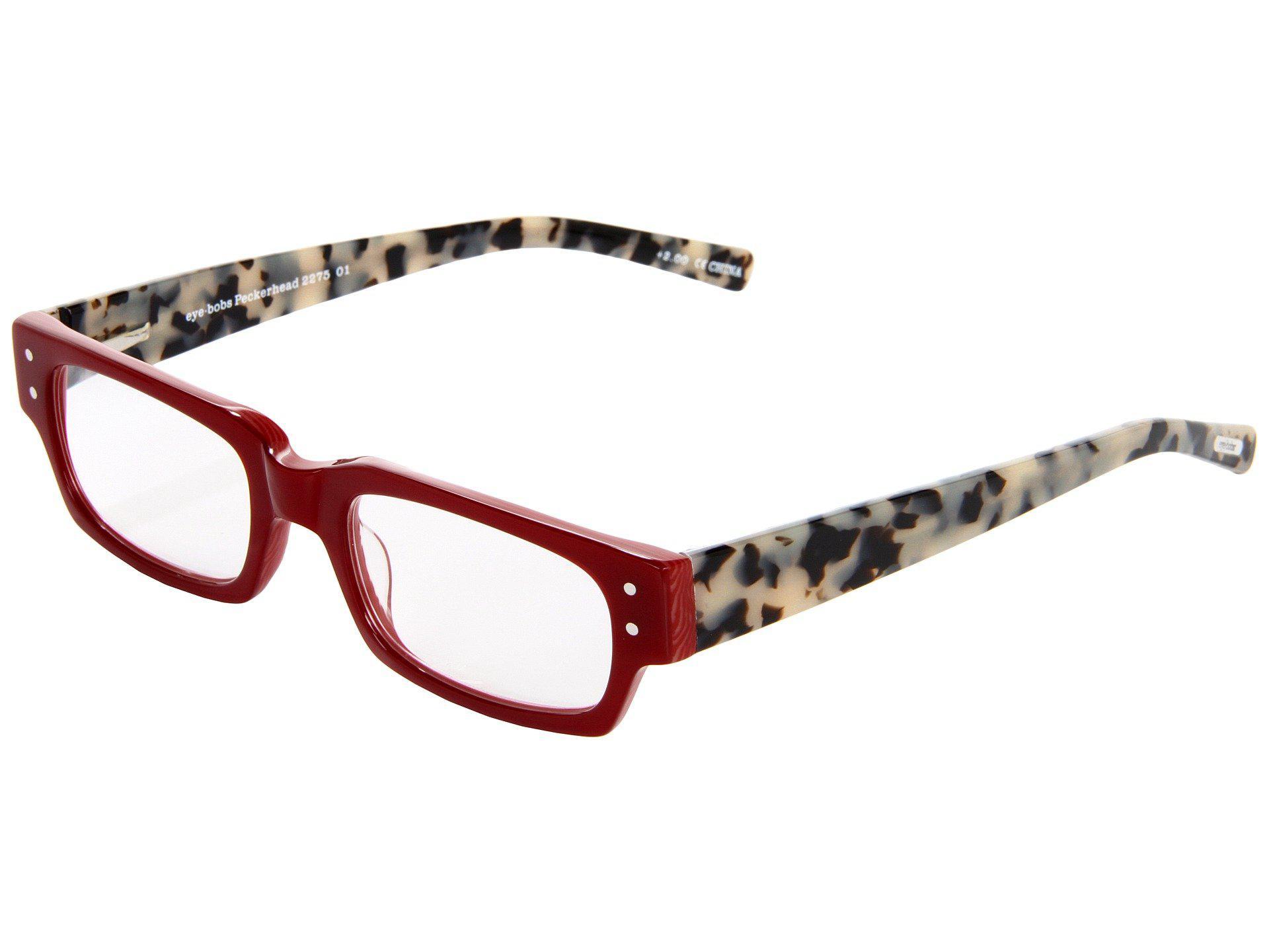 b0673467a18 Lyst - Eyebobs Peckerhead Readers (blue Stripe) Reading Glasses ...
