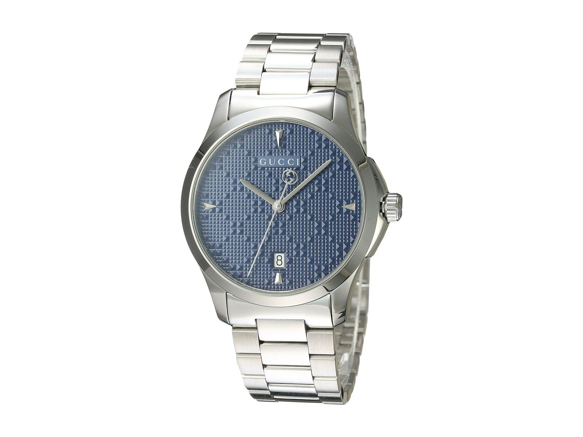 f5f299dc76b Lyst - Gucci G-timeless-ya1264025 in Blue for Men