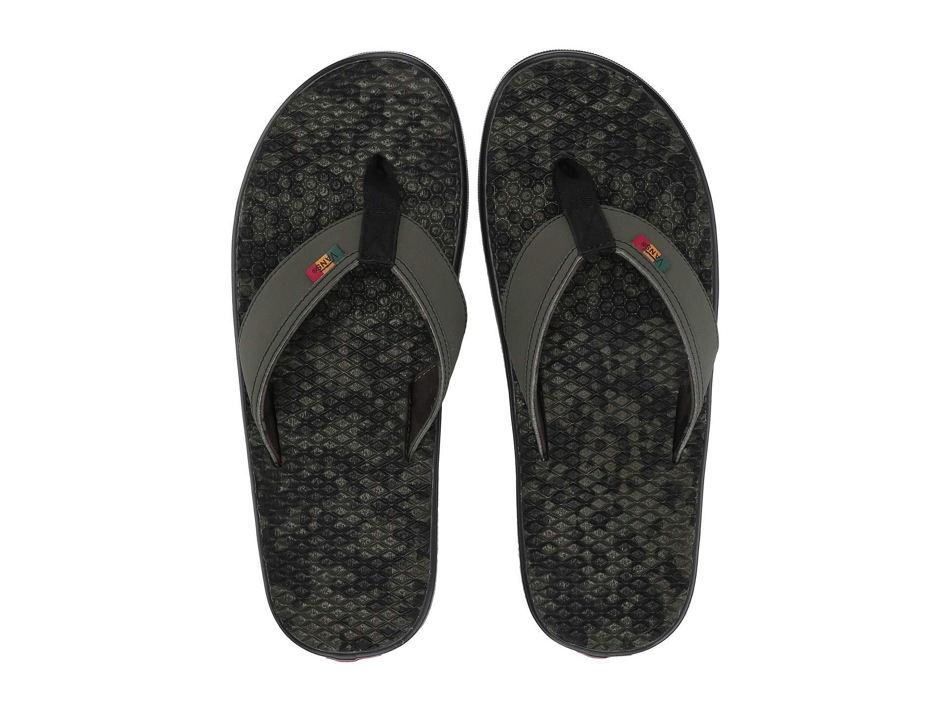 ec2c07381a Vans - La Costa Lite ((checkerboard) Black white) Men s Sandals for. View  fullscreen
