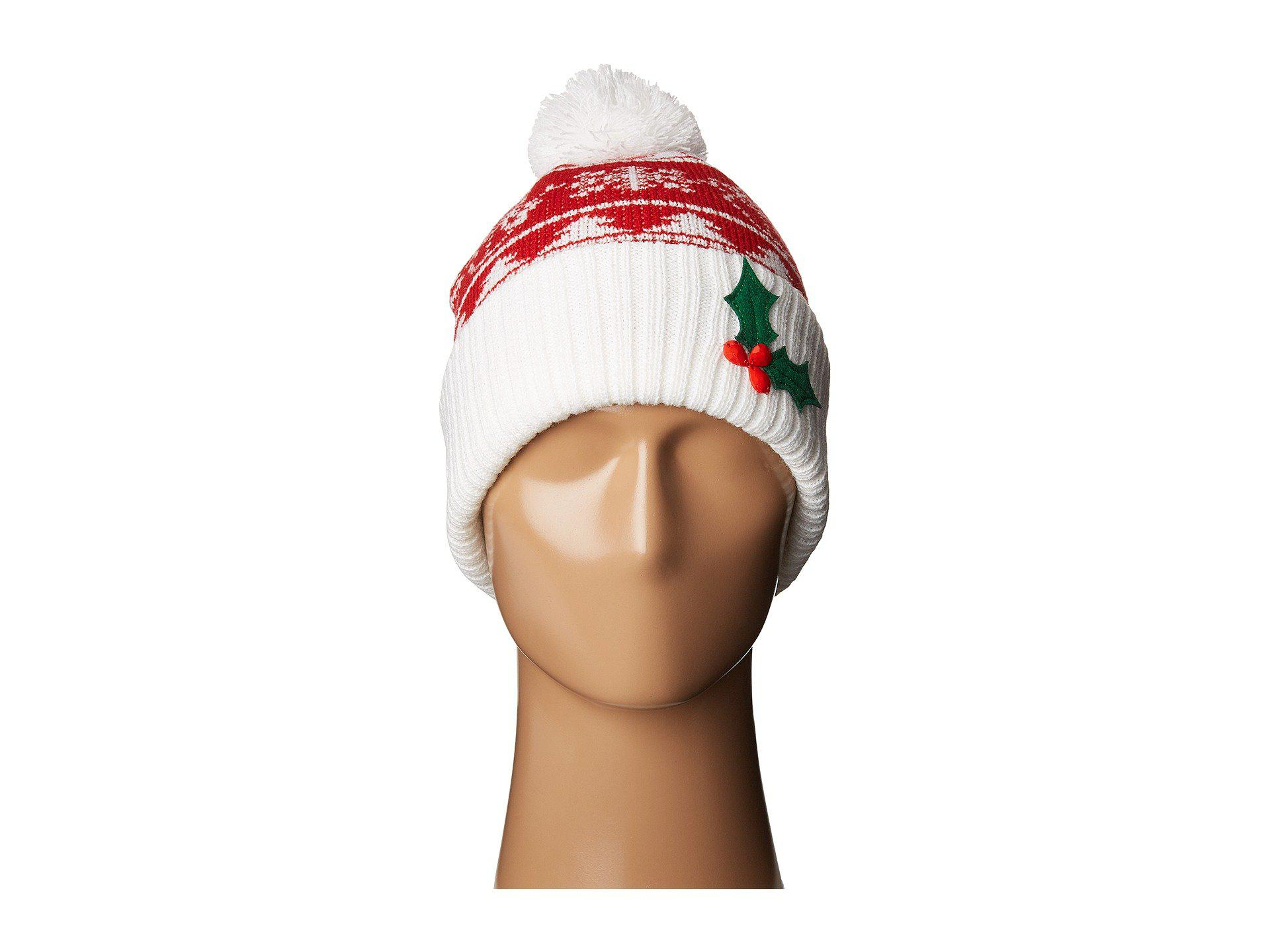 b469cc57a18 Lyst - San Diego Hat Company Knh3448 Christmas Tree Beanie (red ...