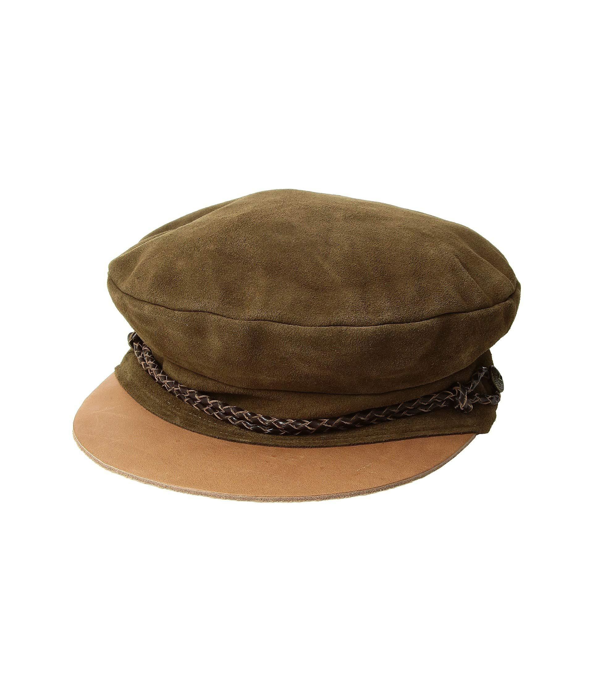 Lyst - Brixton Kayla Cap (brown brown) Traditional Hats in Brown 0a20445eb83c
