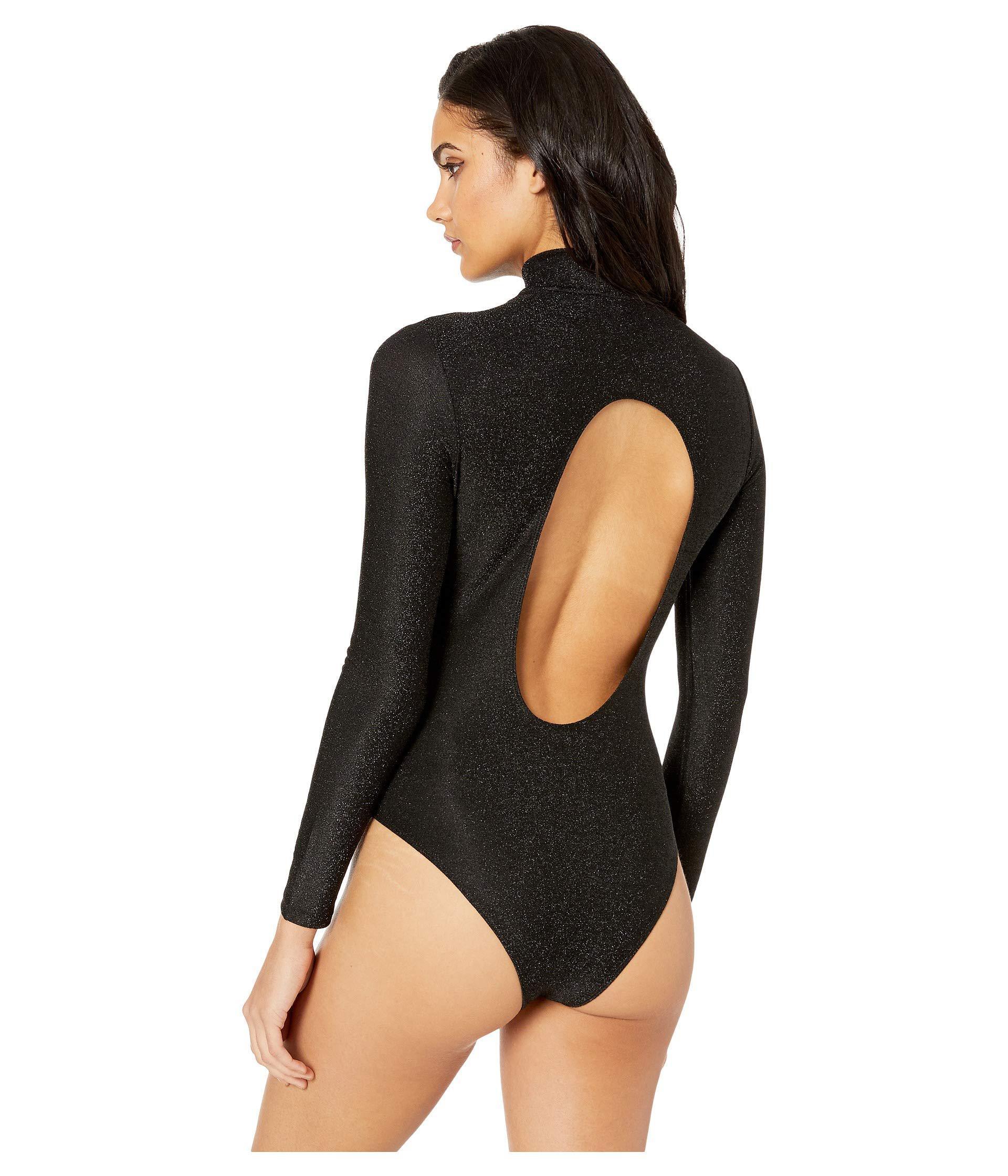 ... Black Metallic Bodysuit In Brixton (brixton) Women s Jumpsuit   Rompers  One. View fullscreen e355c67e4