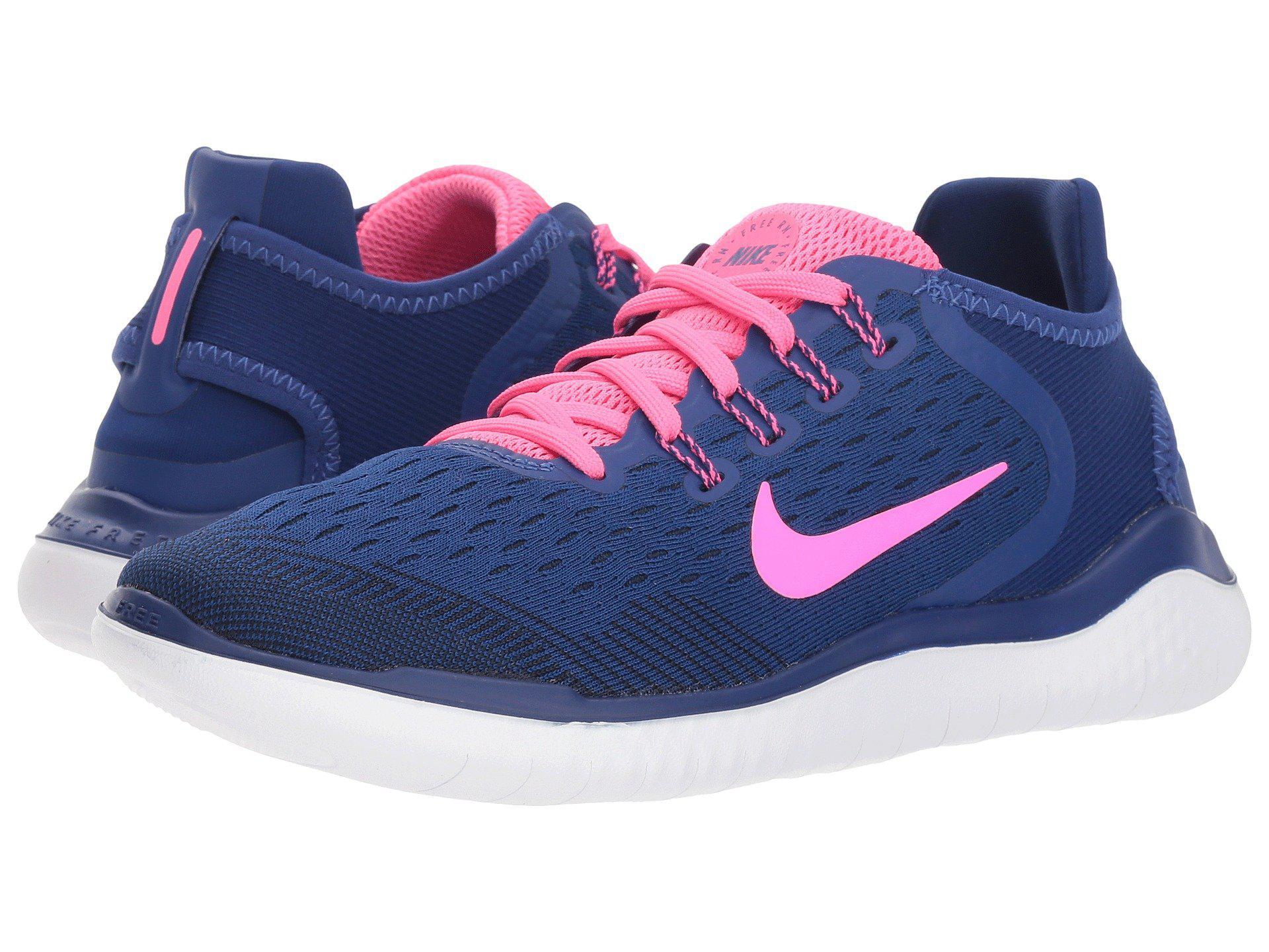50c837539e06f ... usa nike. blue free rn 2018 black metallic gold vast grey womens  running shoes c31aa