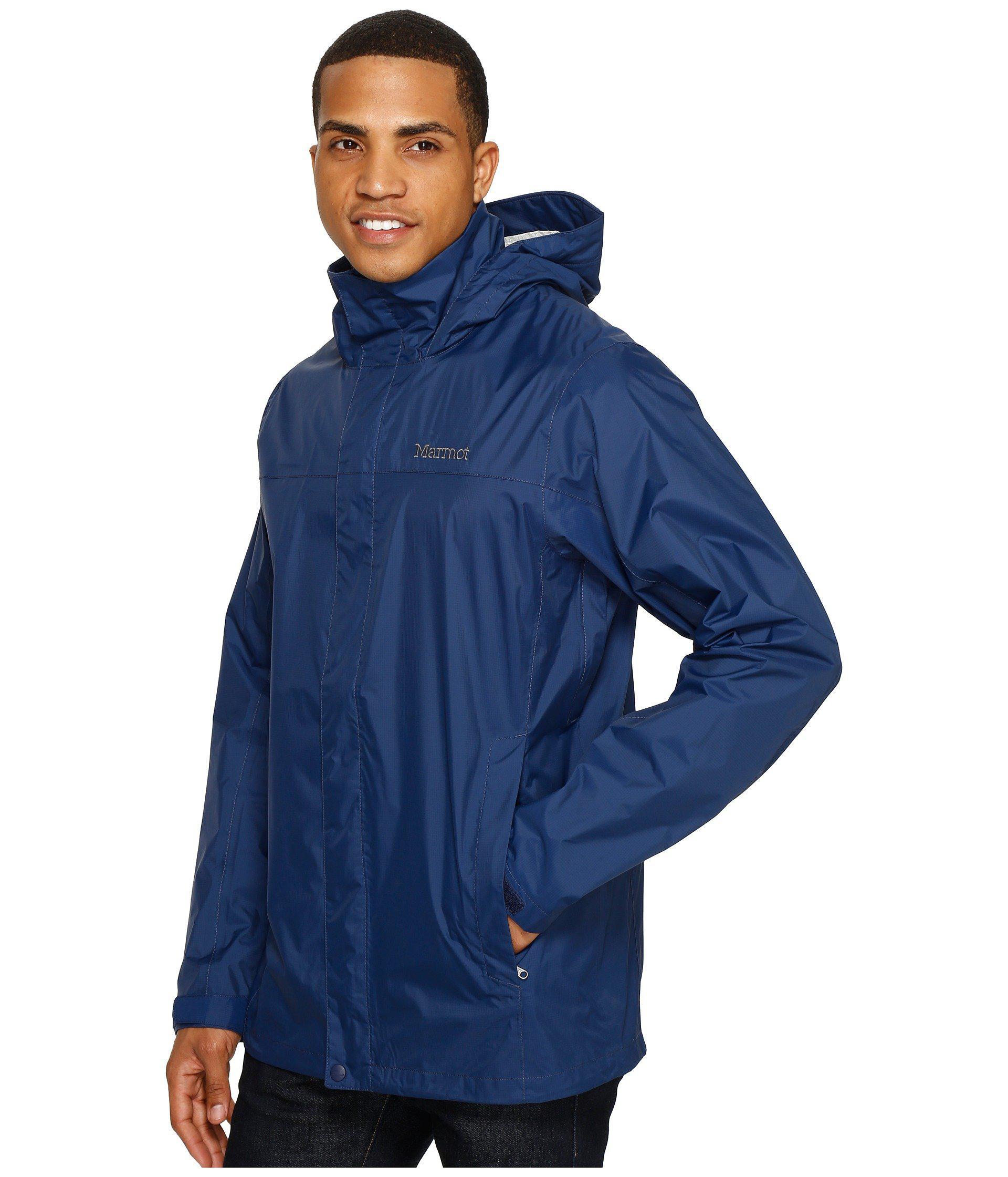 Lyst - Marmot Precip(r) Jacket Tall (arctic Navy) Men s Jacket in Blue for  Men 8b6a472a9