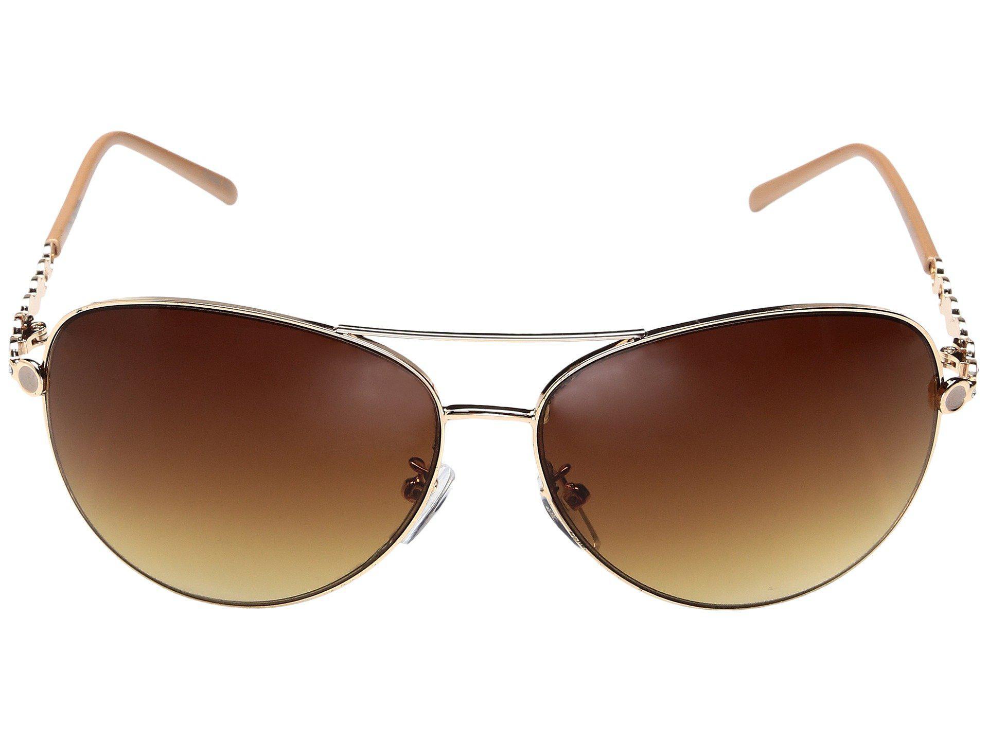 162c4c0f14 Lyst - Steve Madden Lynn (rose Gold) Fashion Sunglasses